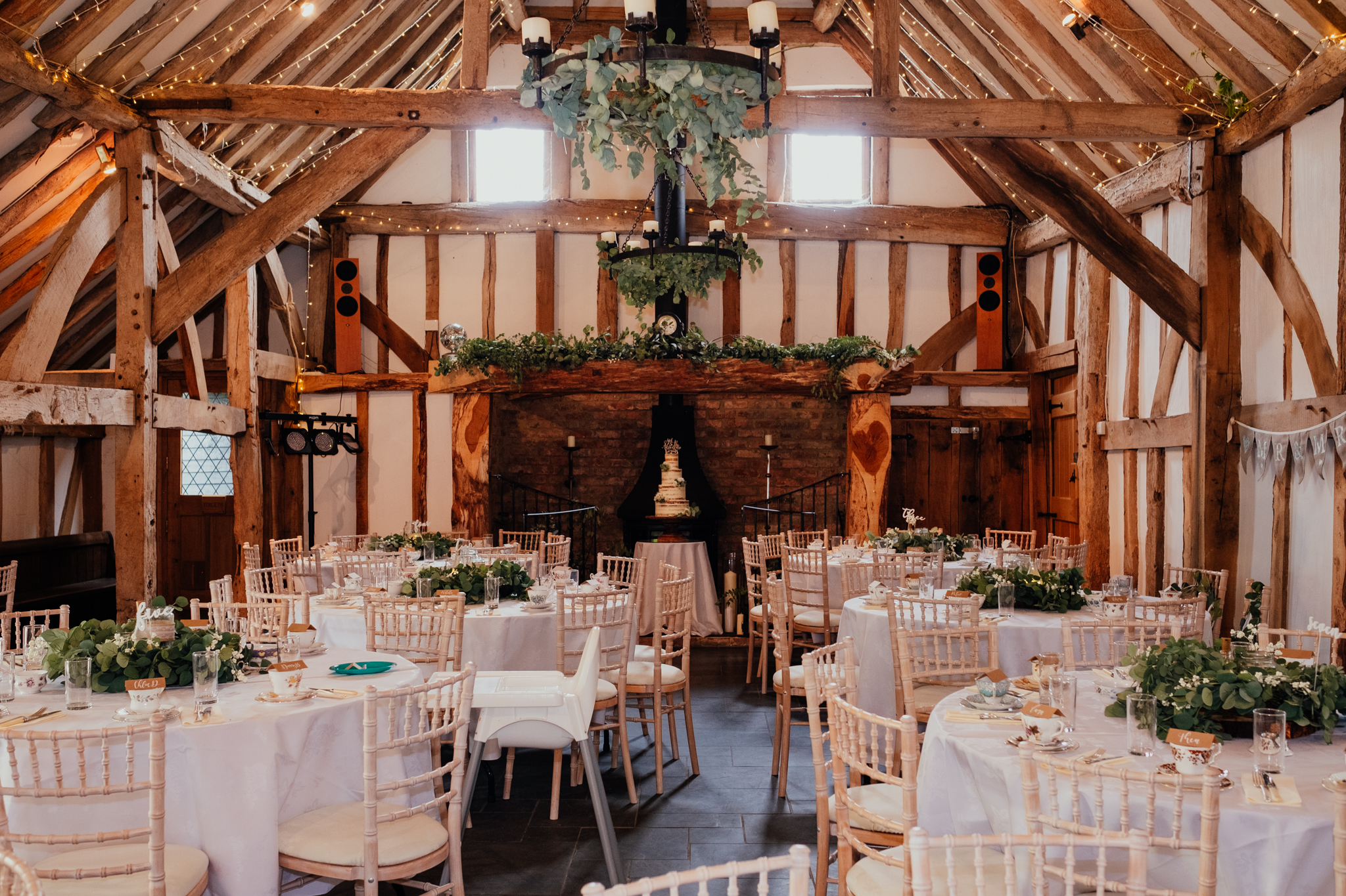 Rumbolds Farm wedding barn