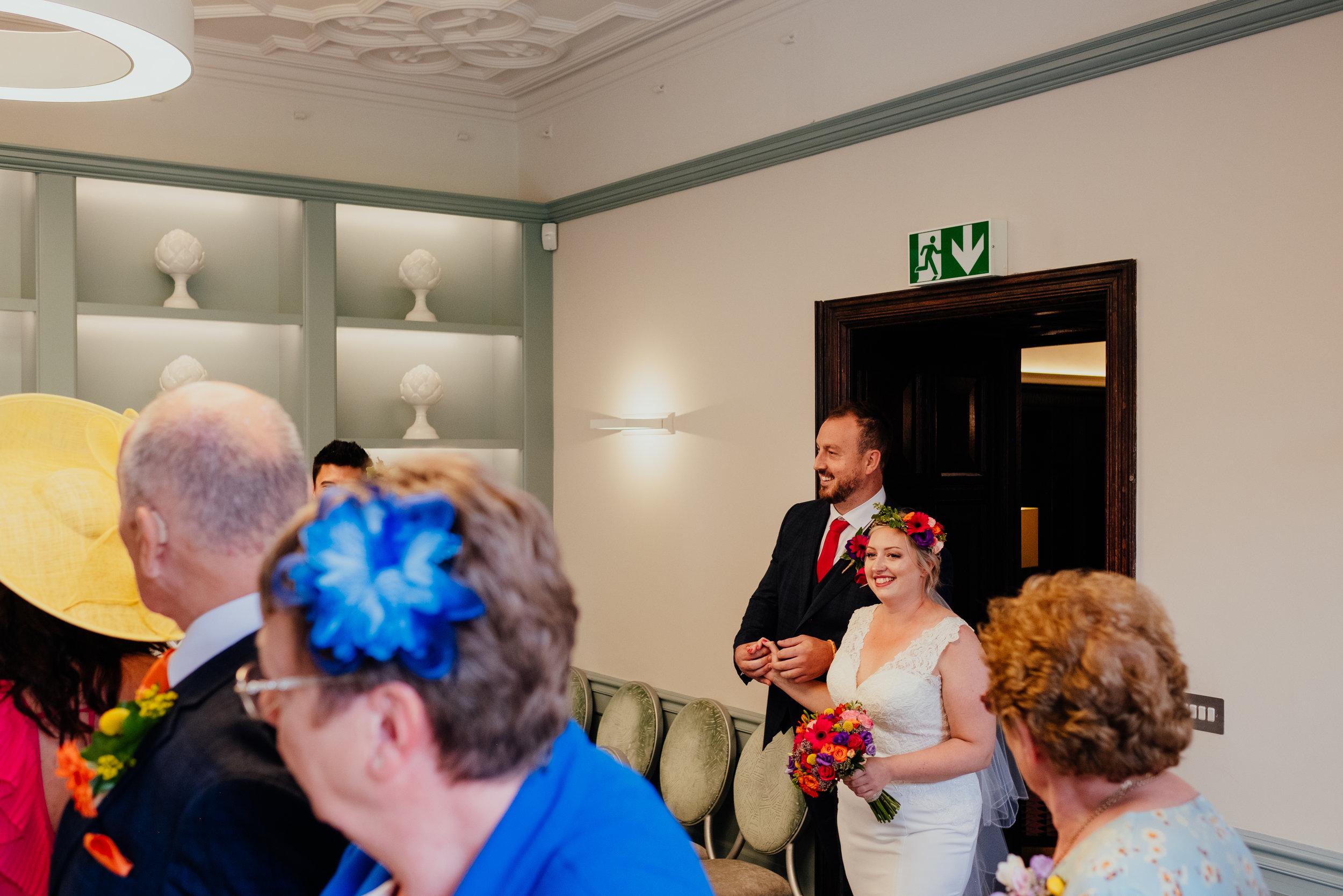 Southover Grange wedding ceremony