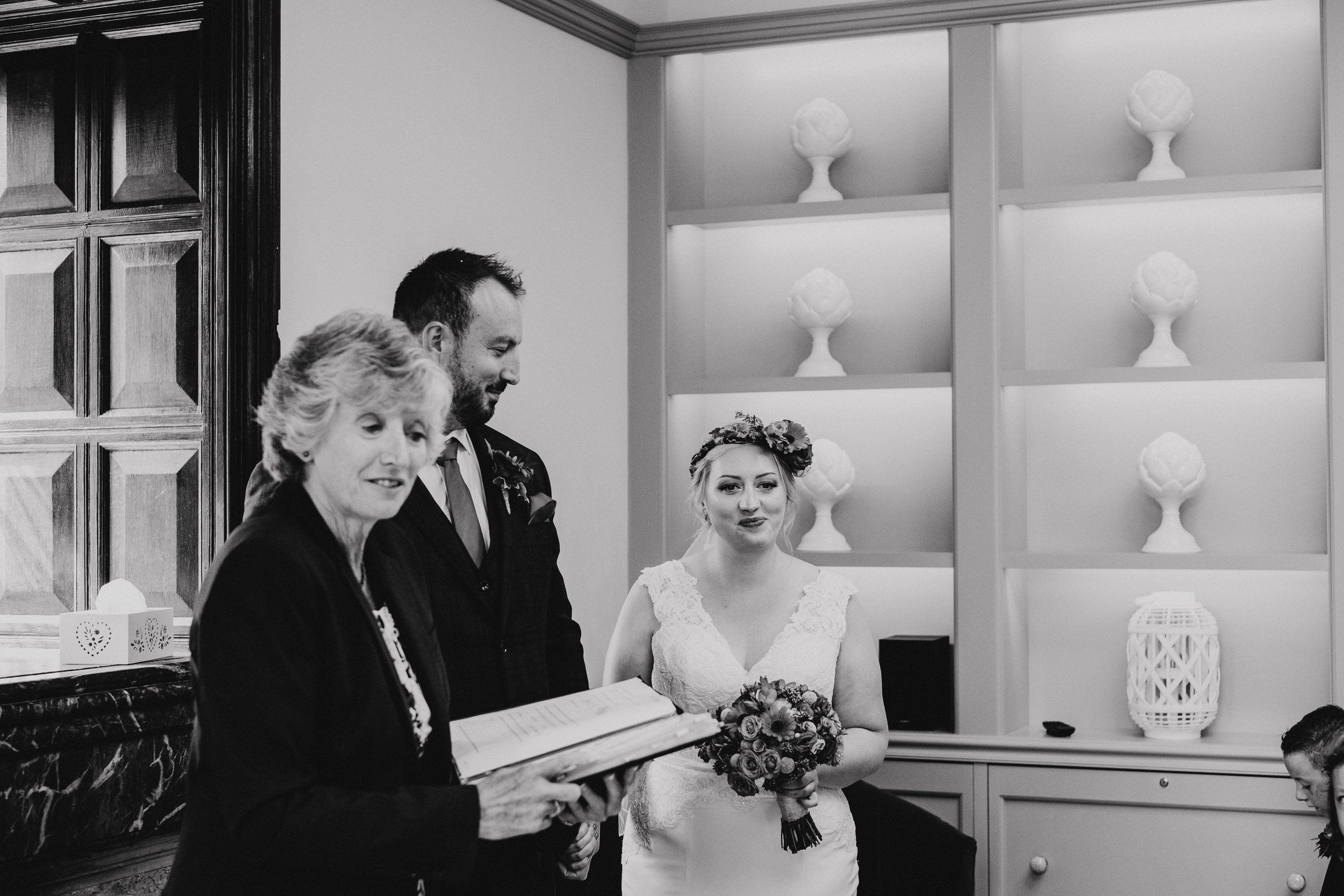 Vegan wedding at Southover Grange in Lewes