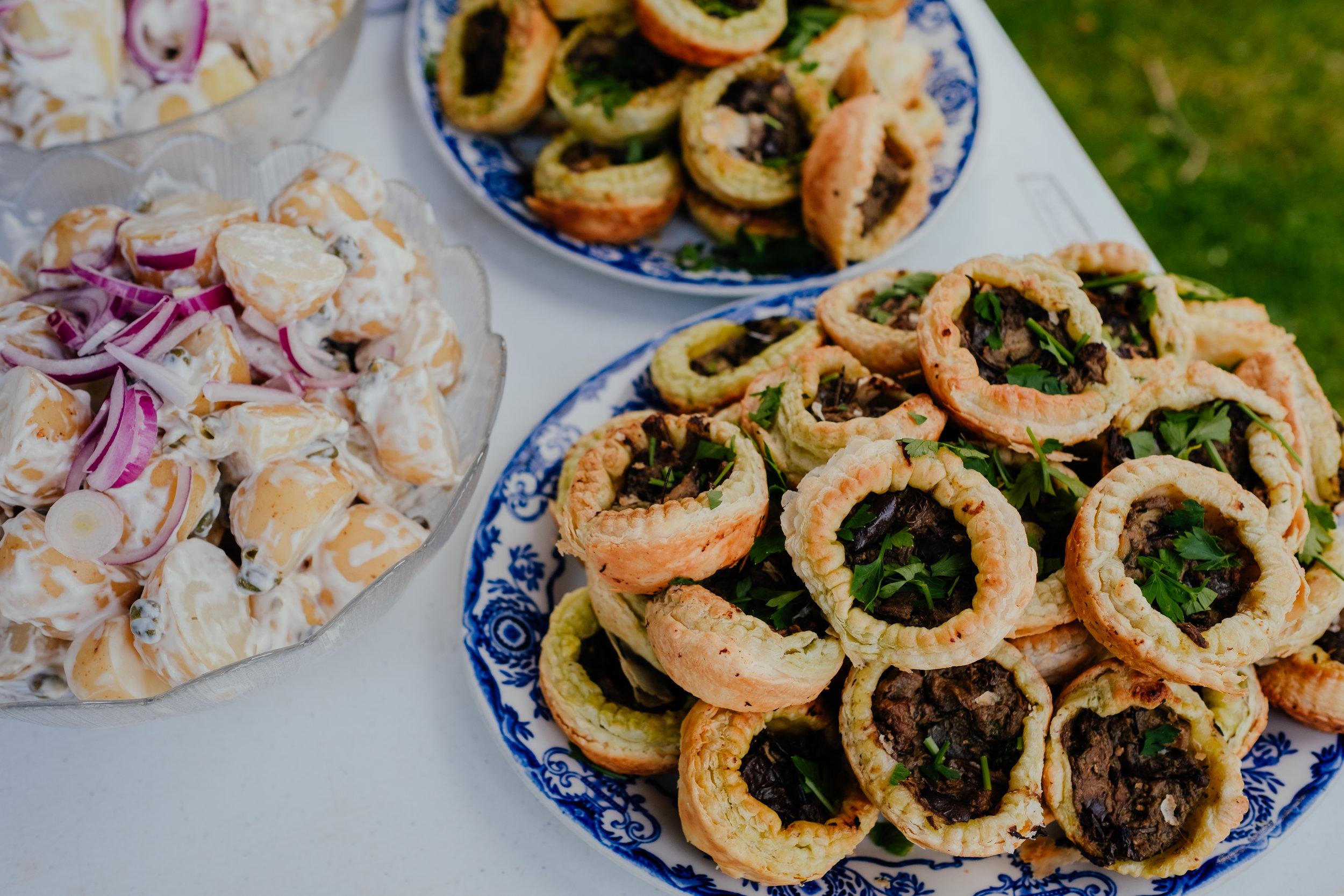 Vegan wedding food in Brighton