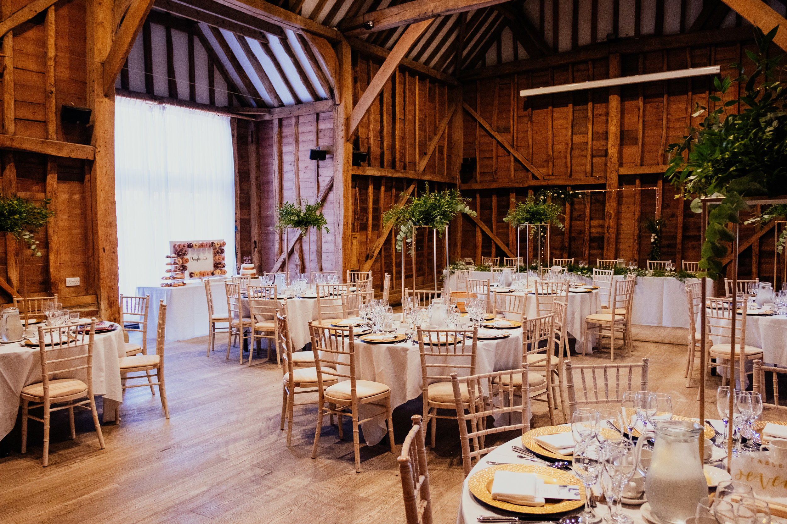 Wedding Reception at Tewin Bury Farm