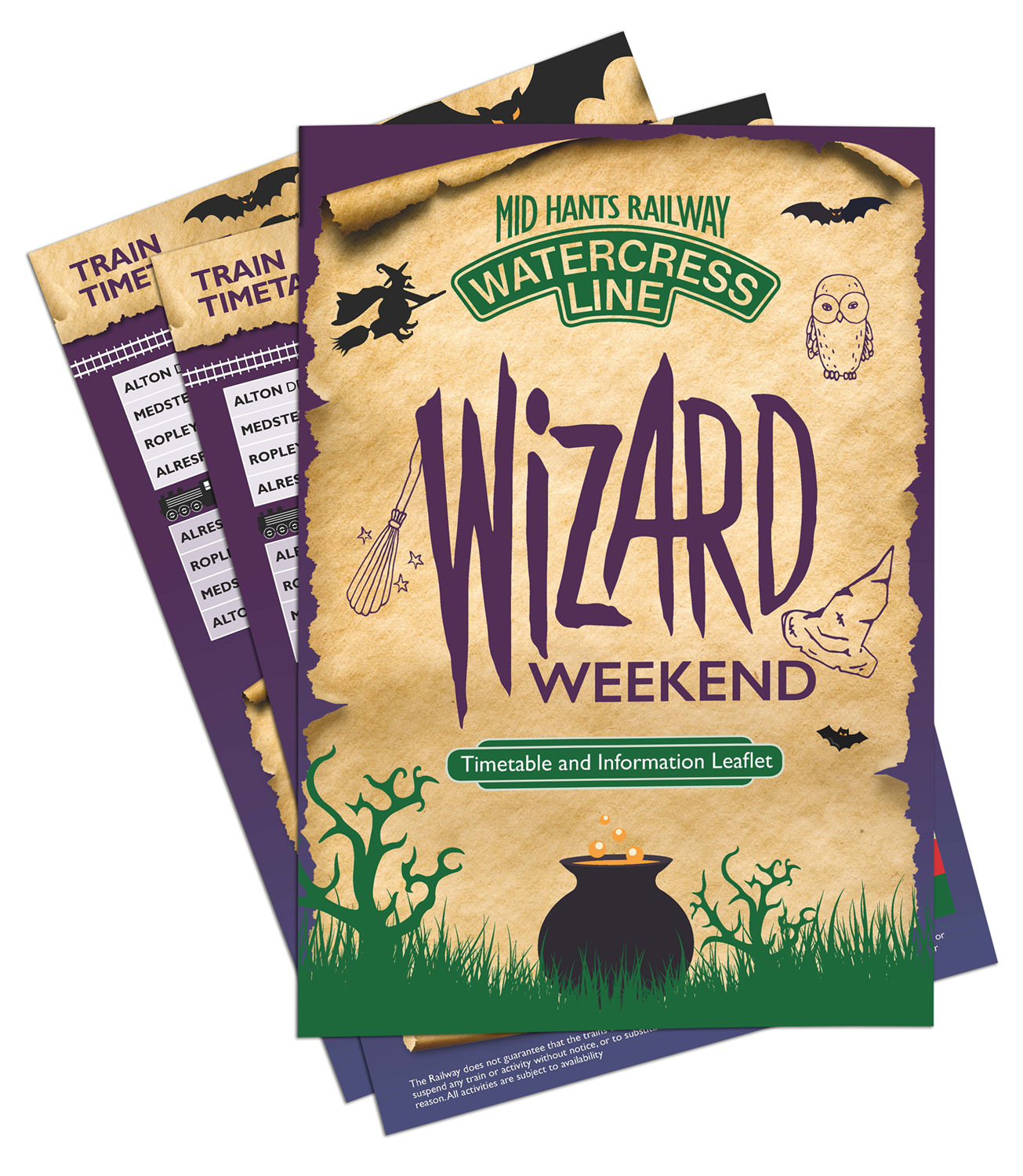 Wizard Weekend Day Sheet 2018
