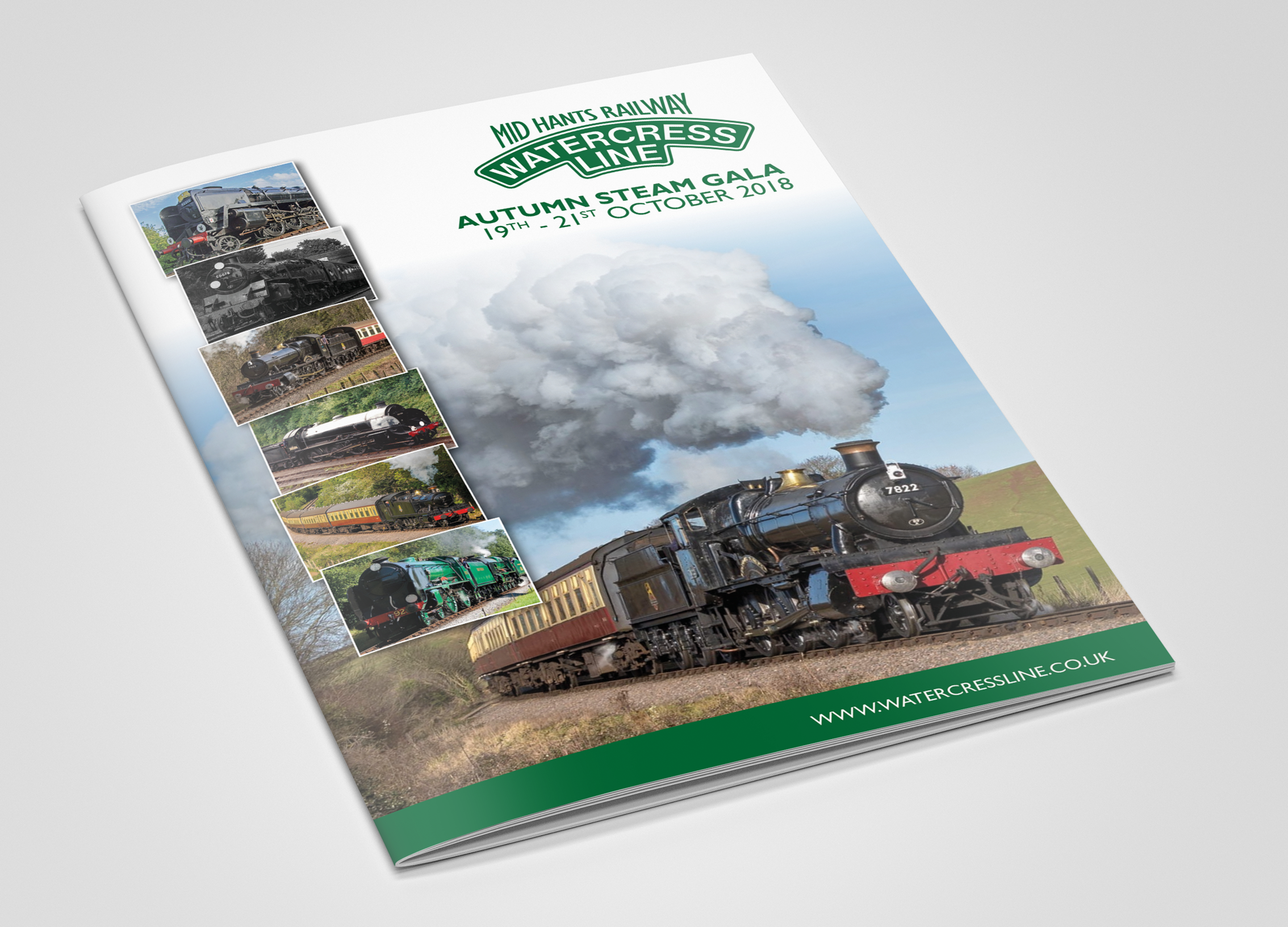 The Watercress Line Steam Gala Brochure 2018