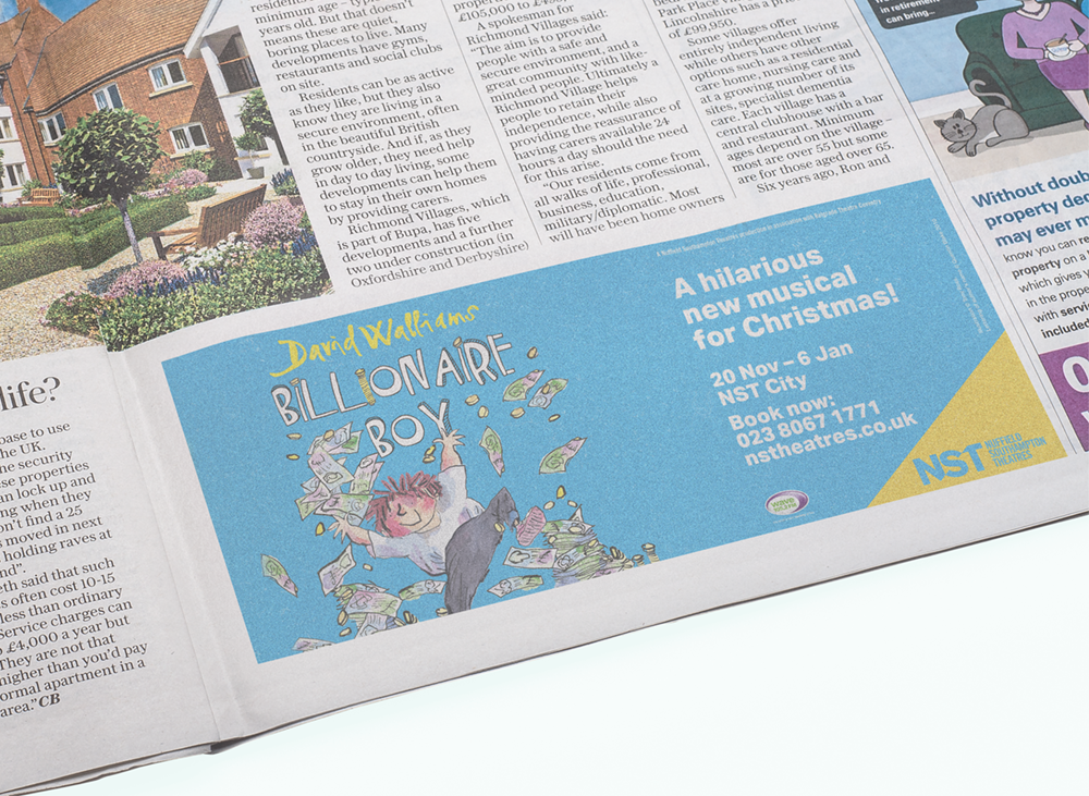 Press Advertising - Need to catch the attention of a wide audience? Our affordable press adverts work a treat!