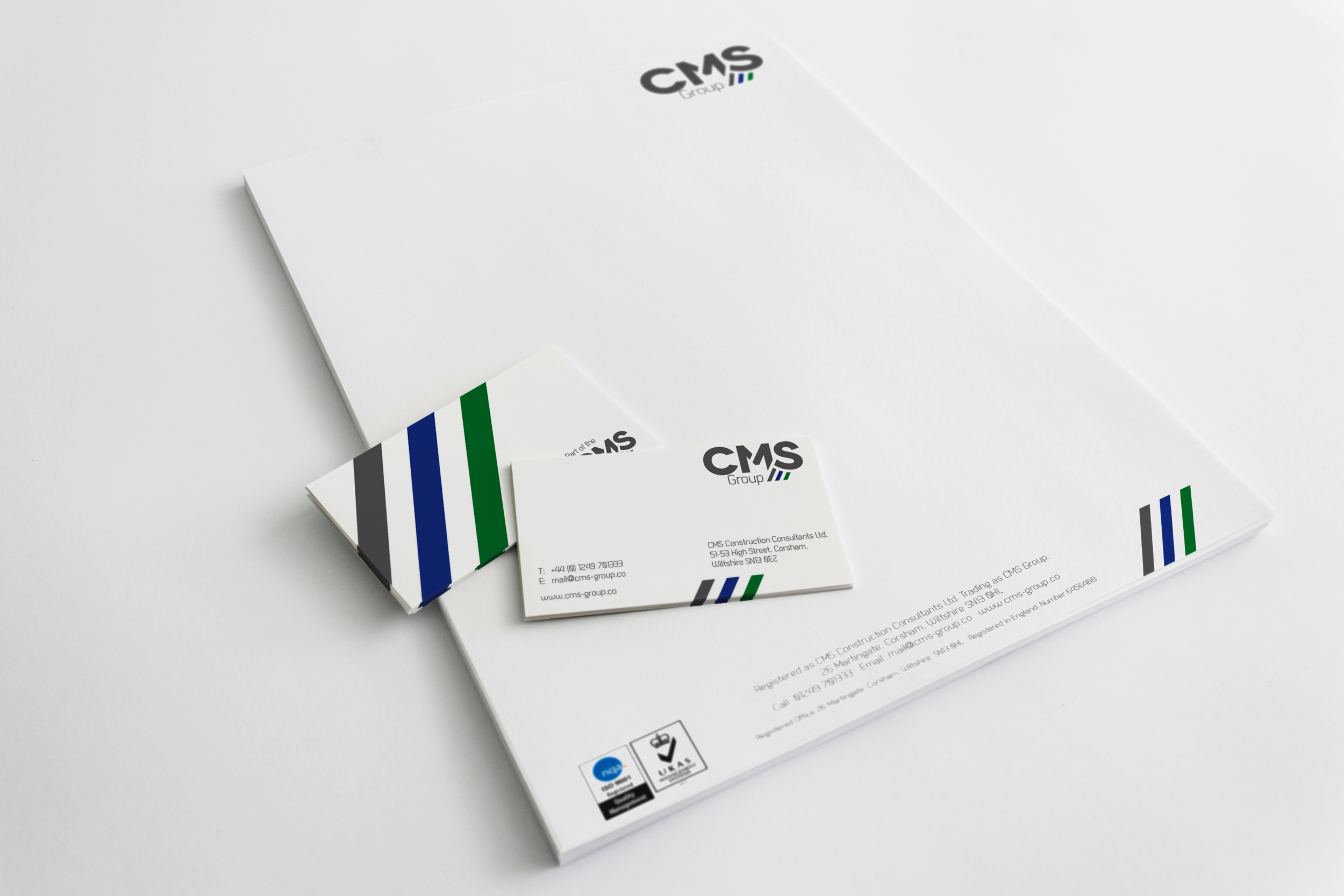 Stationery Design - One of your first touch points with new customers, so I'll make it look good for you.