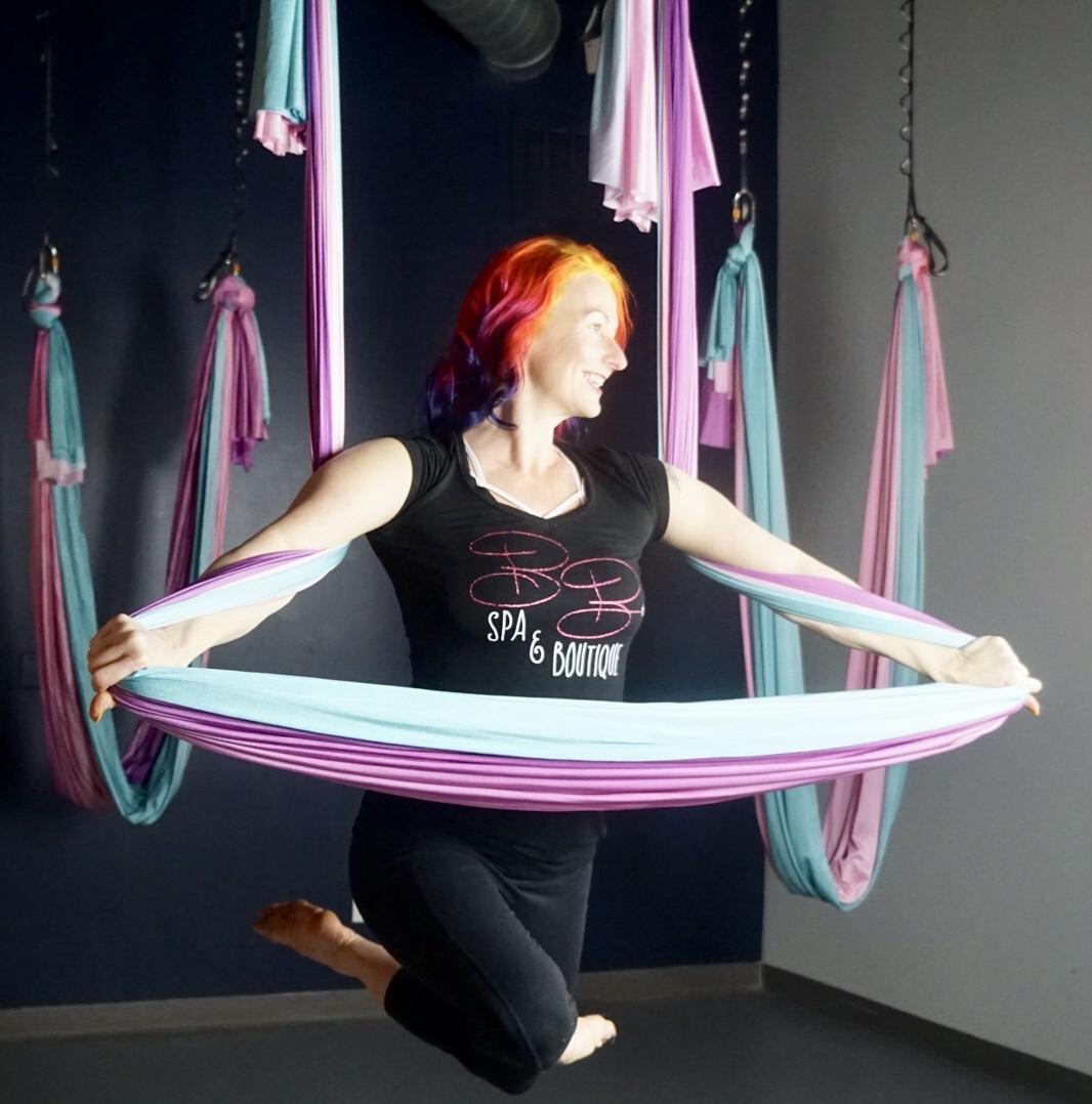 Rachel Aerial Yoga
