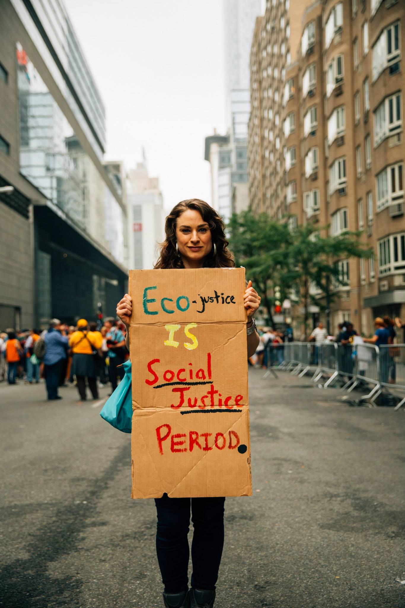 People's Climate March, NYC 2014