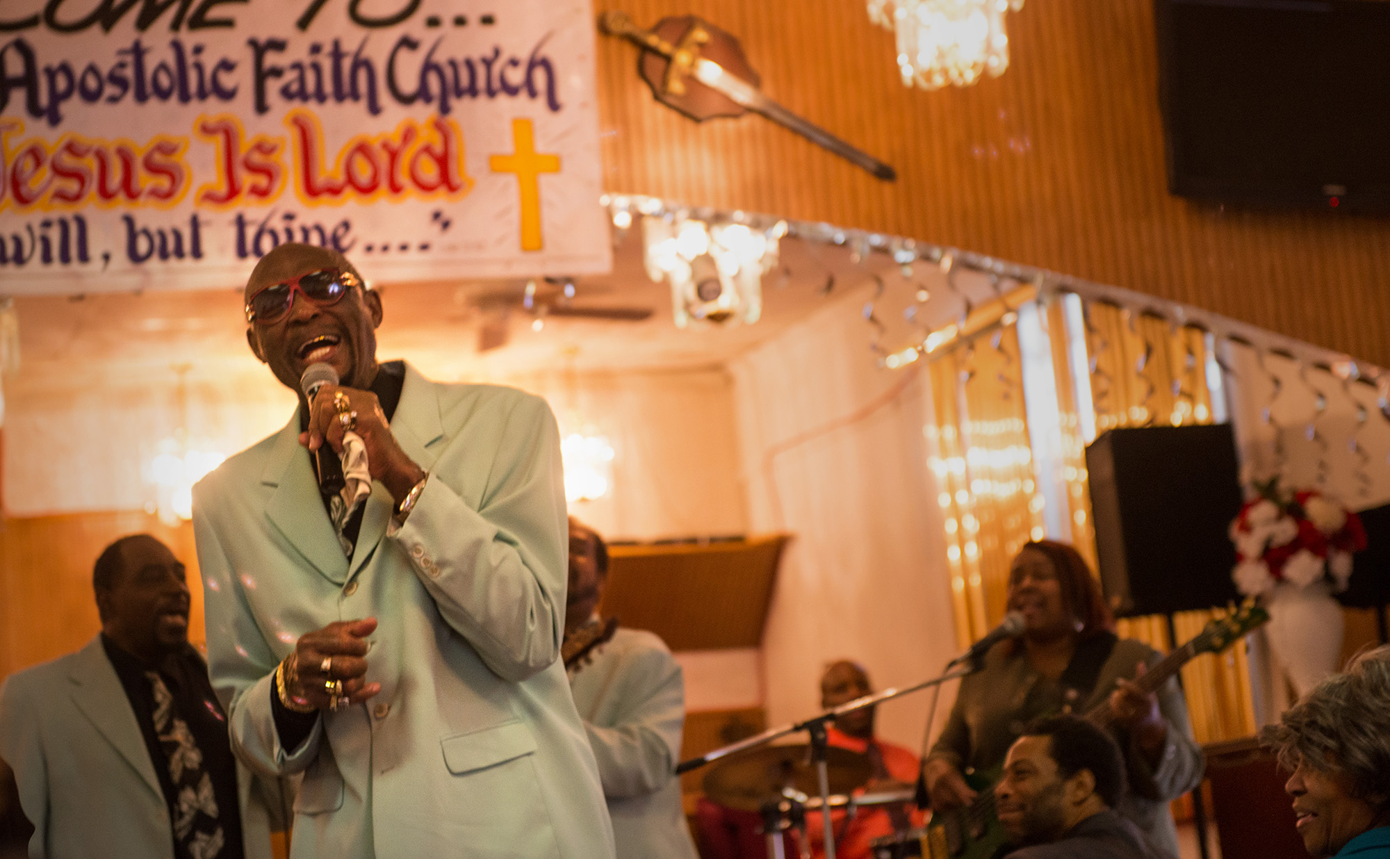 Local gospel quartets gather for fellowship and faith on Chicago's South Side.