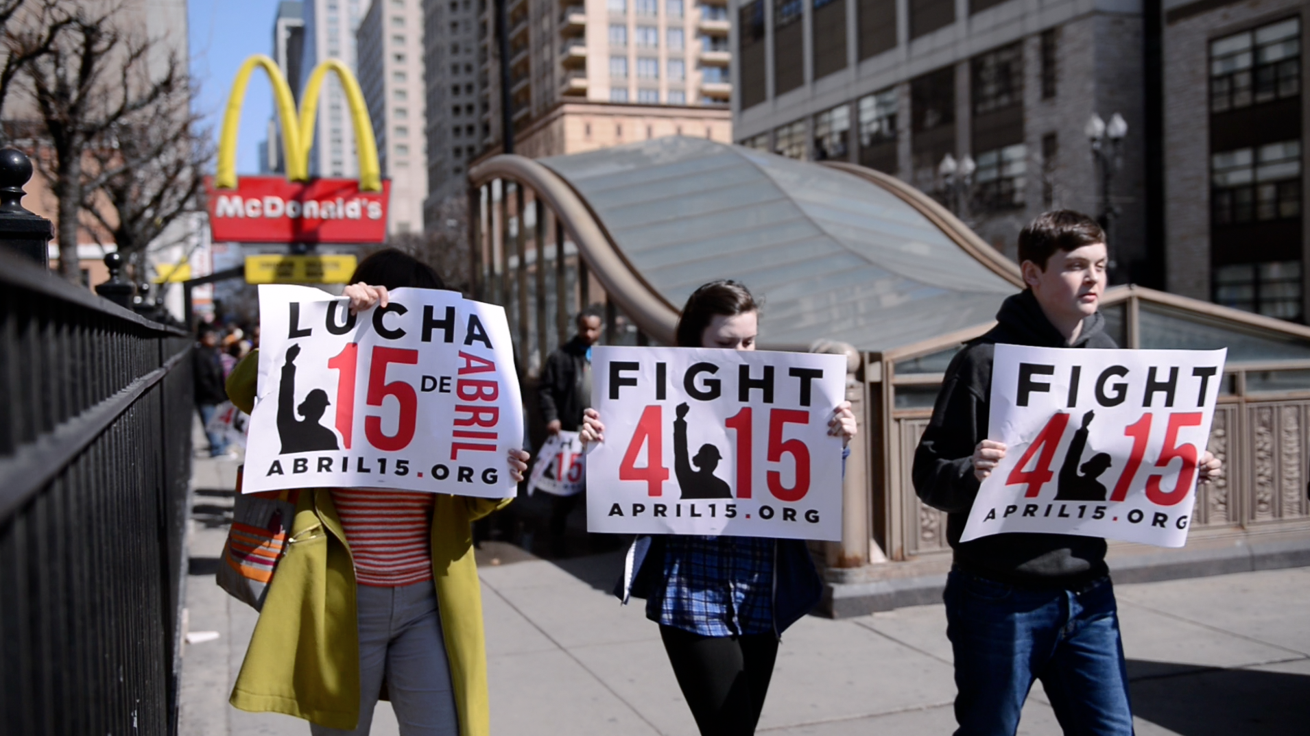 INSIDE THE FIGHT FOR $15