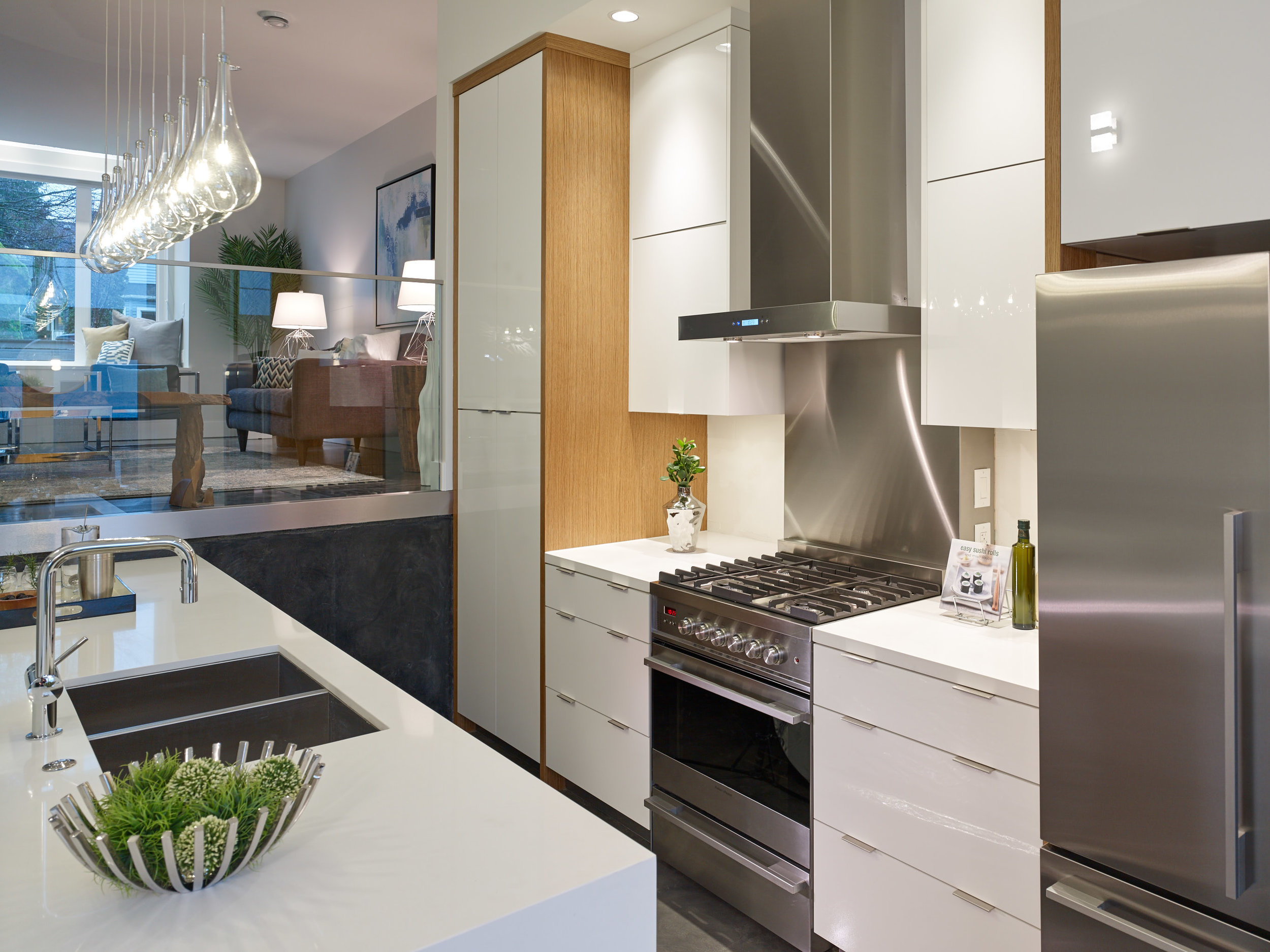 East Vancouver Modern Kitchen Georgie Ovation
