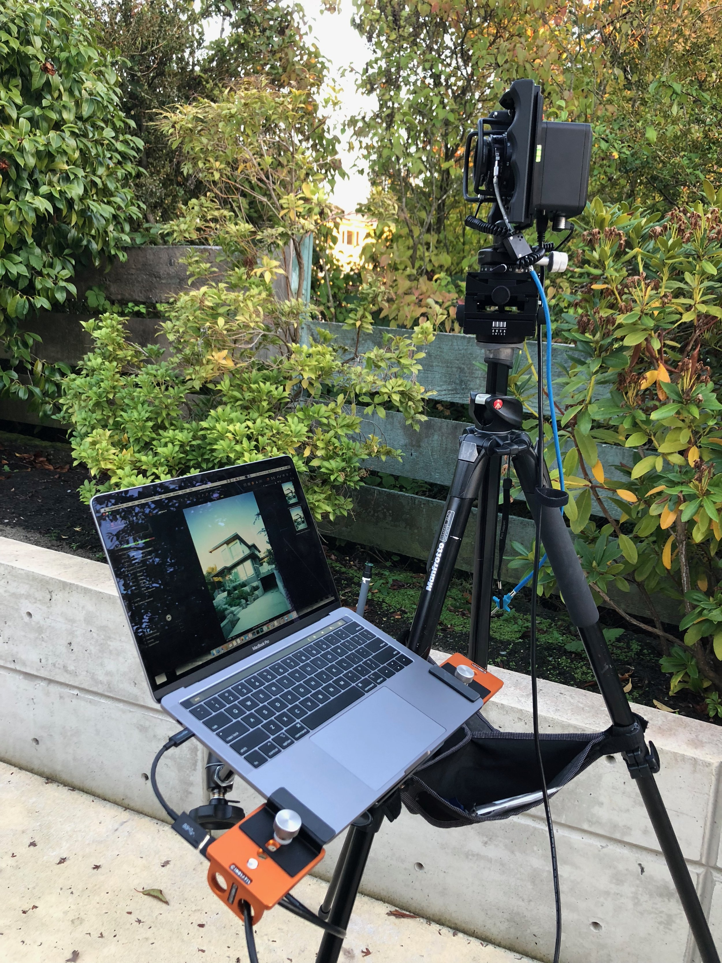 Inovativ DigiPlate rig in use