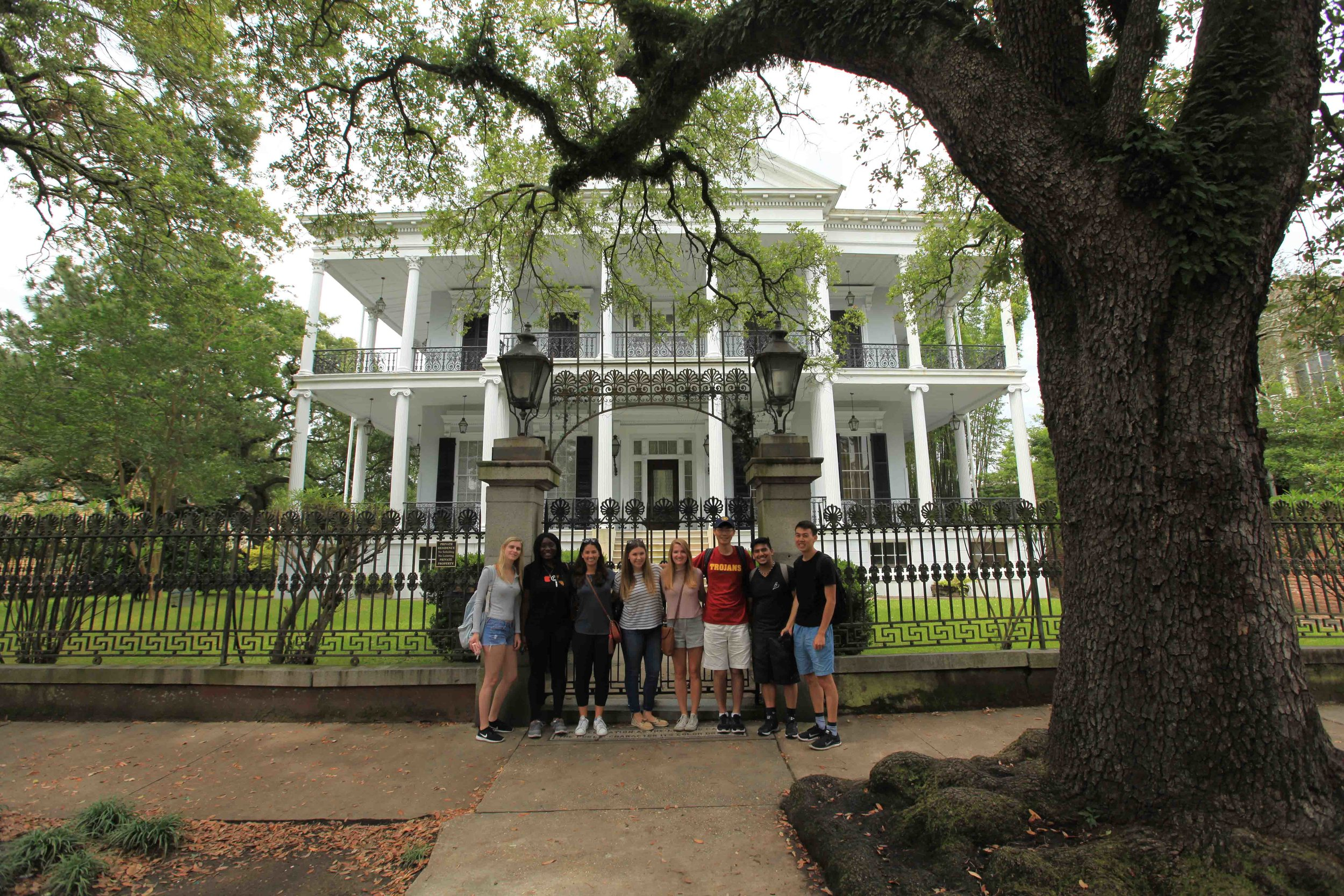 This was the house used as the 'Coven House' in the FX series 'American Horror Story'.