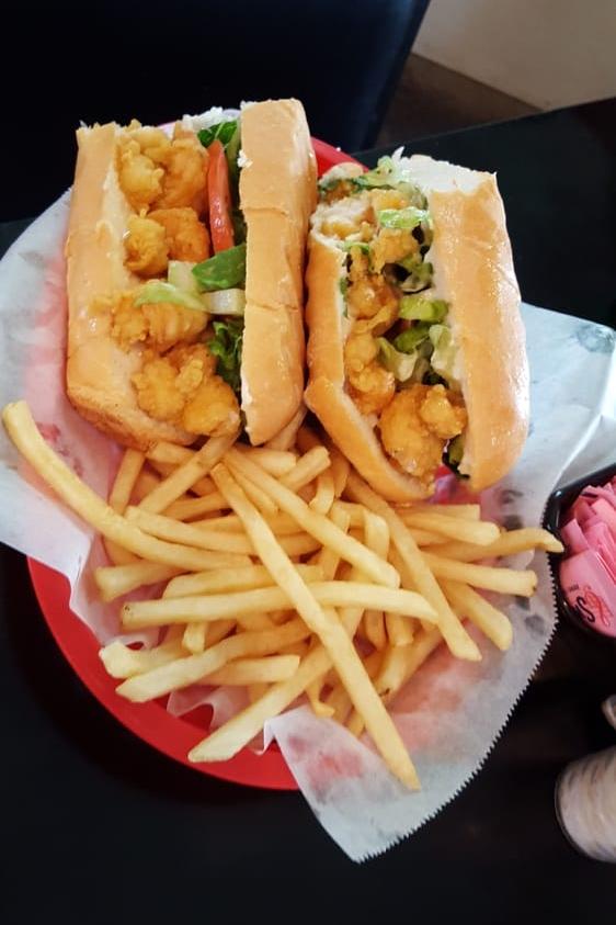 Shrimp po' boy (image via yelp.com)