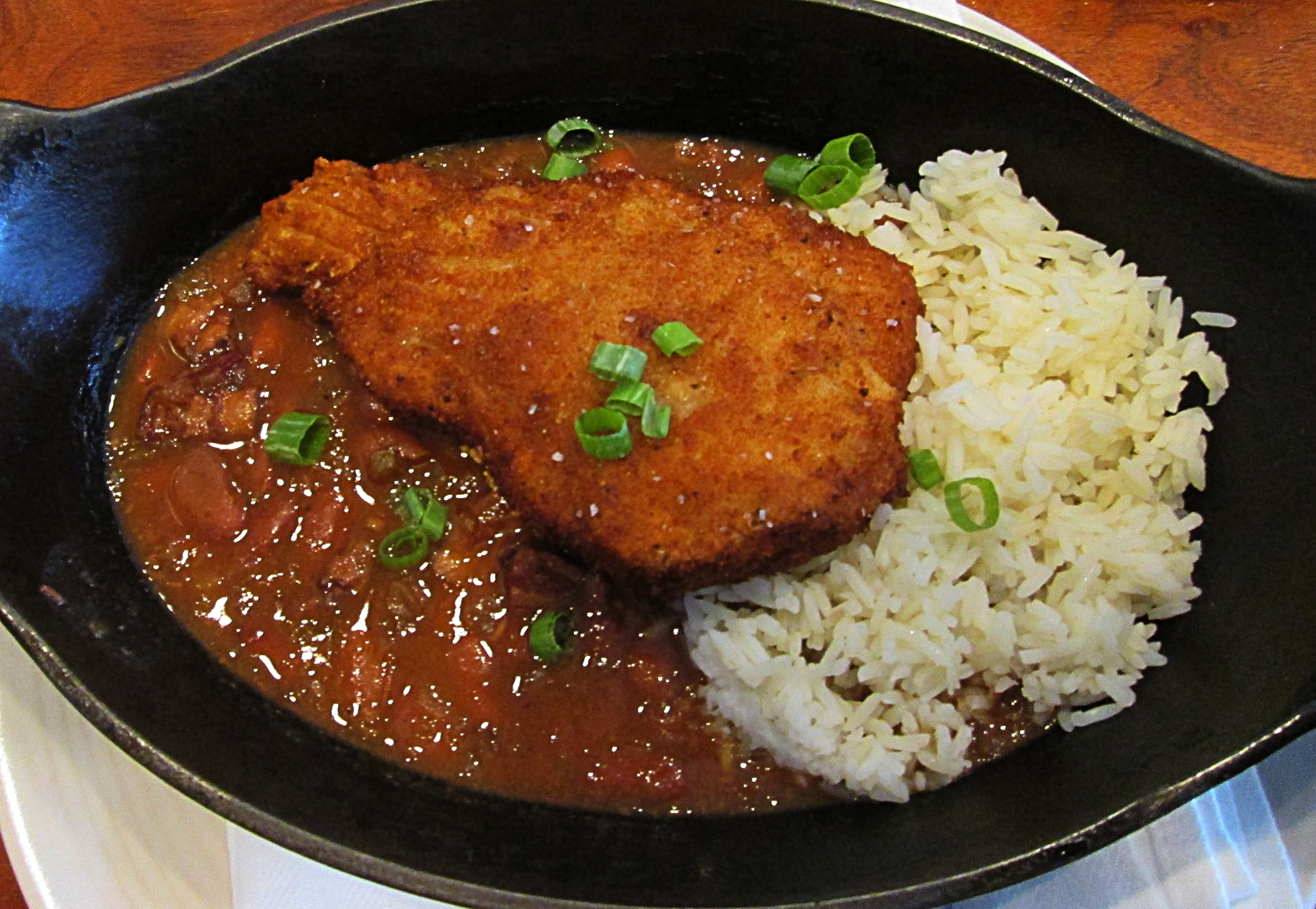 Red beans and rice (lunch special)