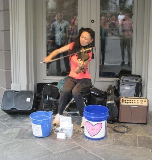 Tanya Huang, violinist