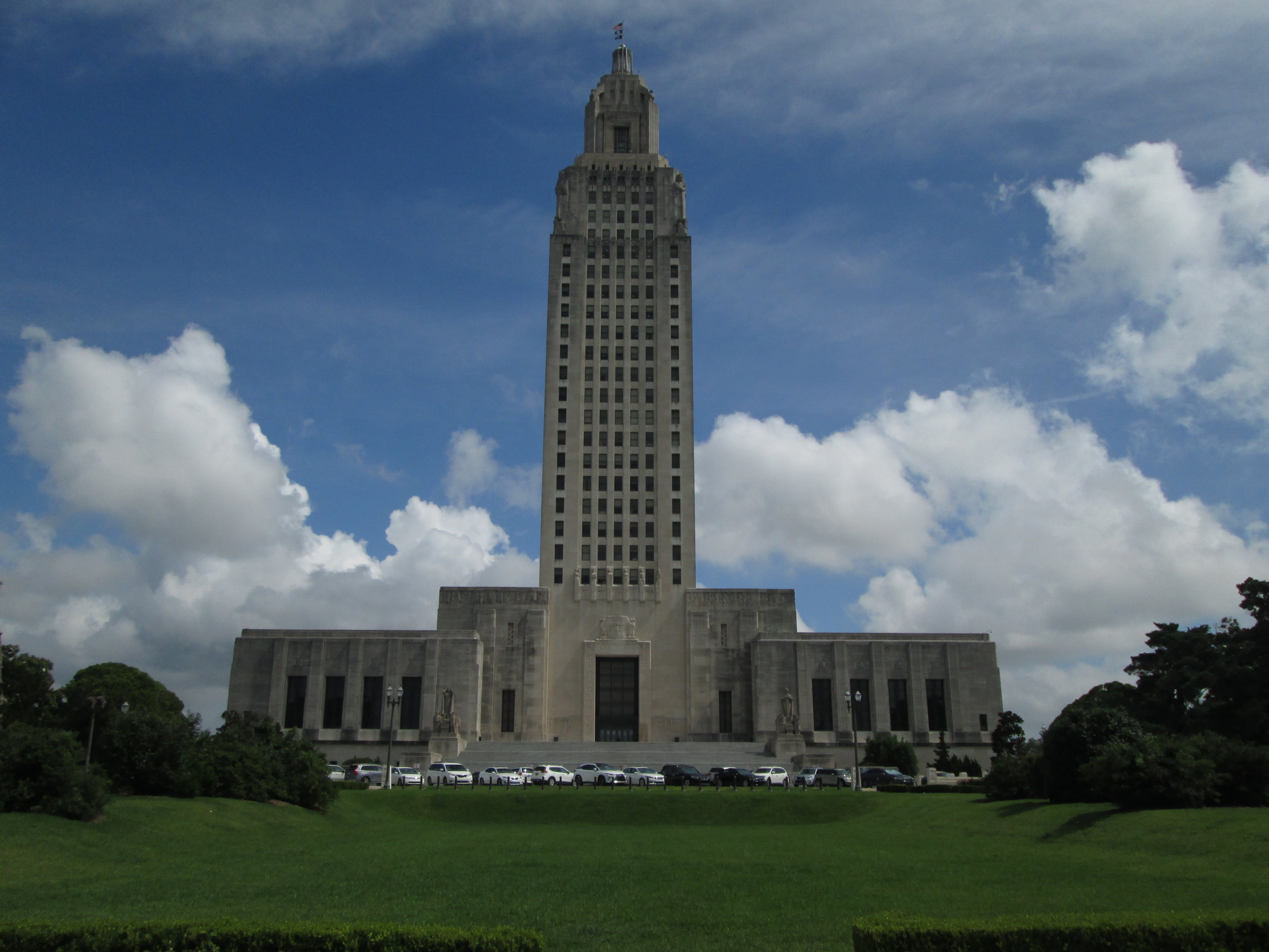 The Louisiana State Capitol Building, c. May 16, 1932