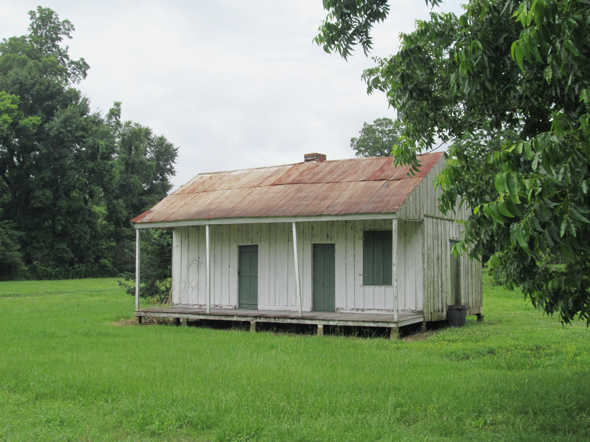 What a sharecropper's home might have looked like