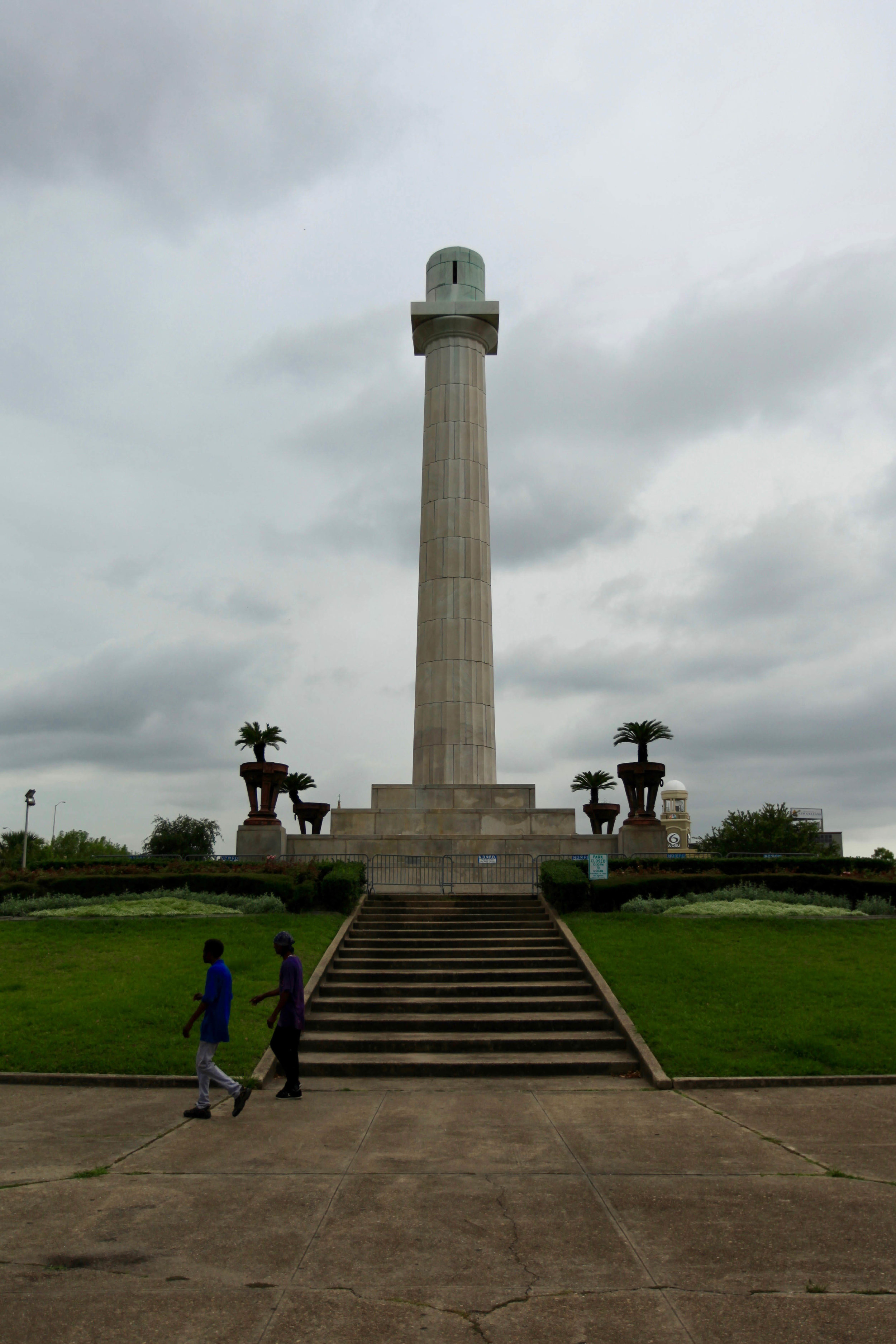 Lee Circle - with Lee's statue gone