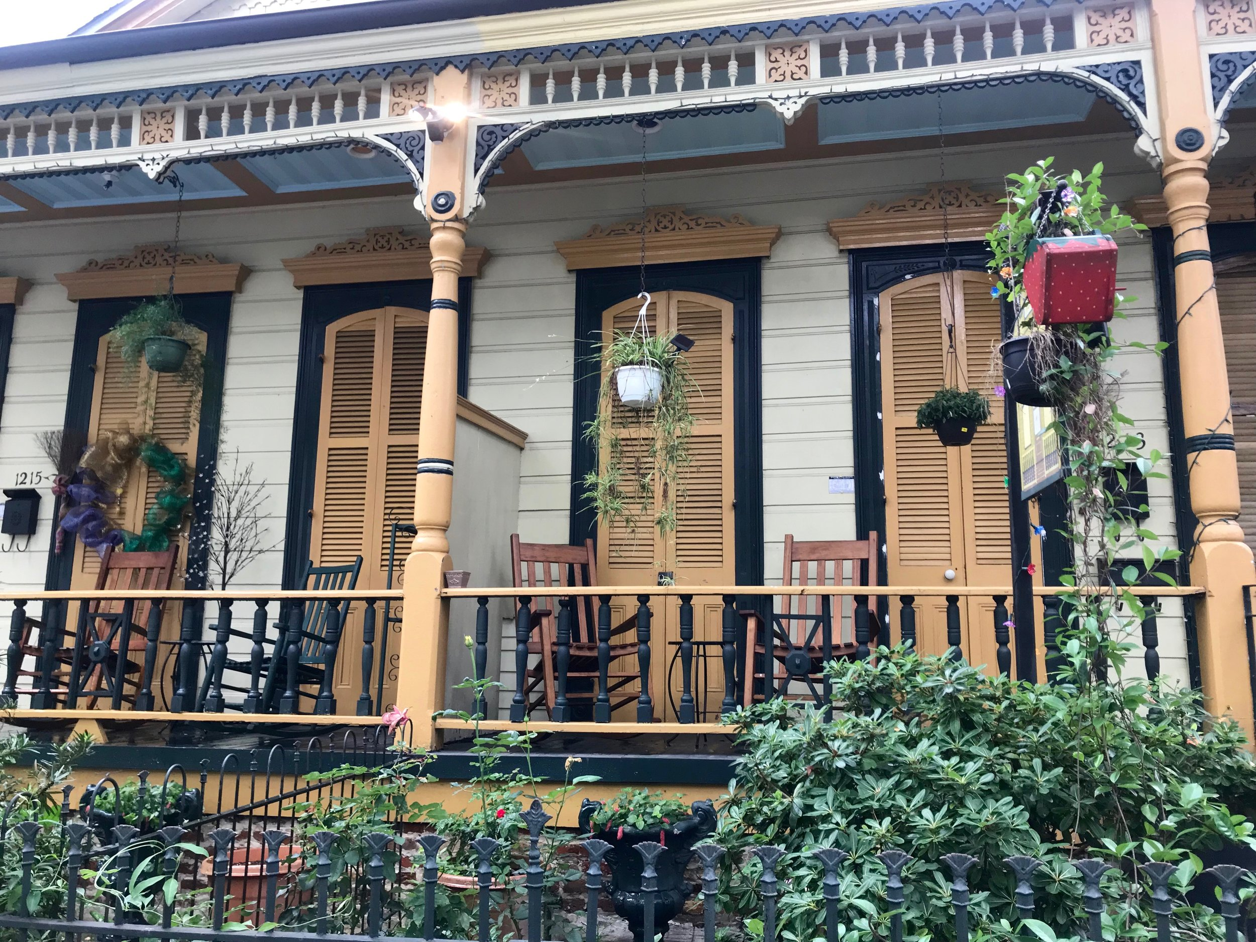 Creole Cottage in The French Quarter