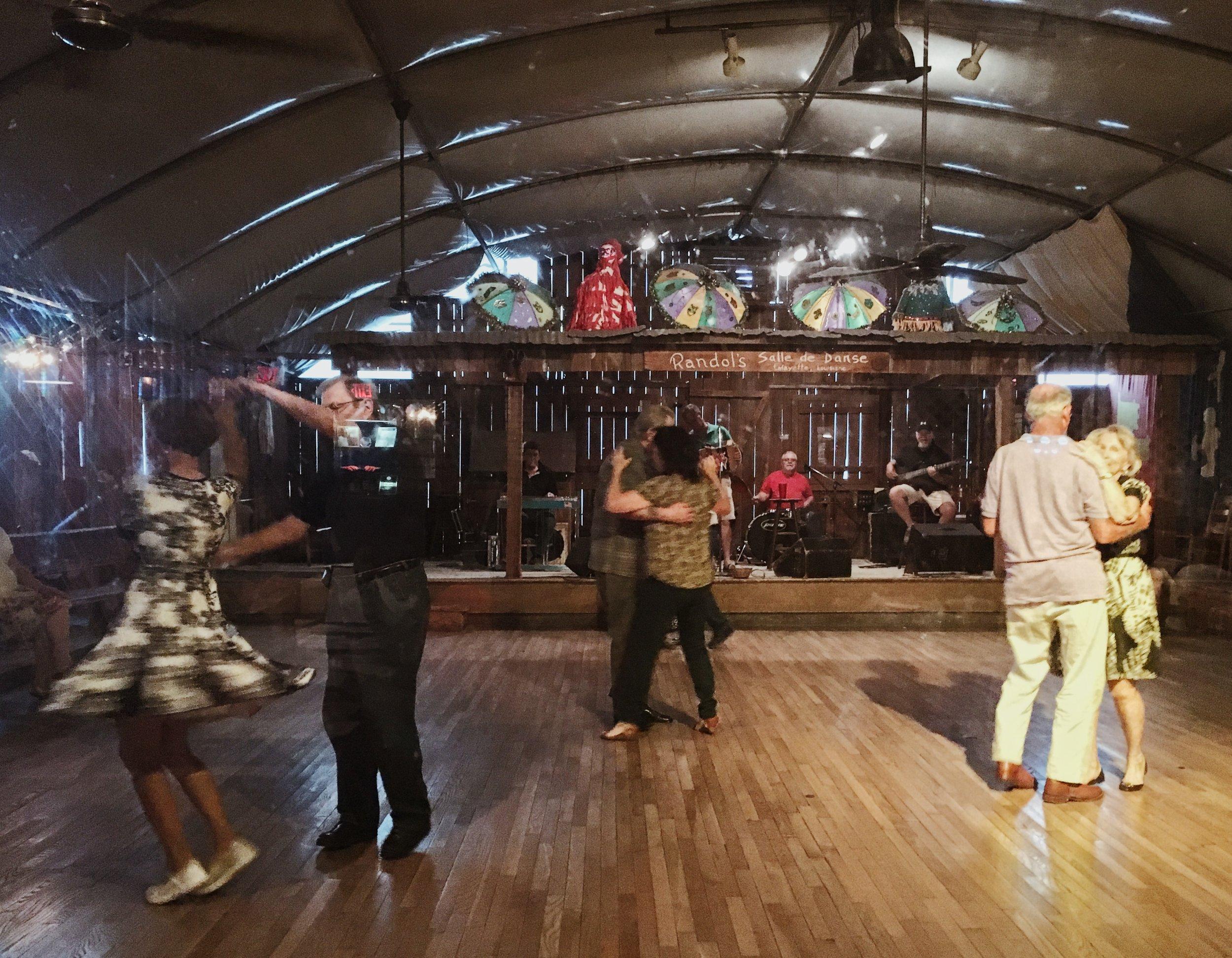 5.31.18 // Dancing at Randol's with a live band