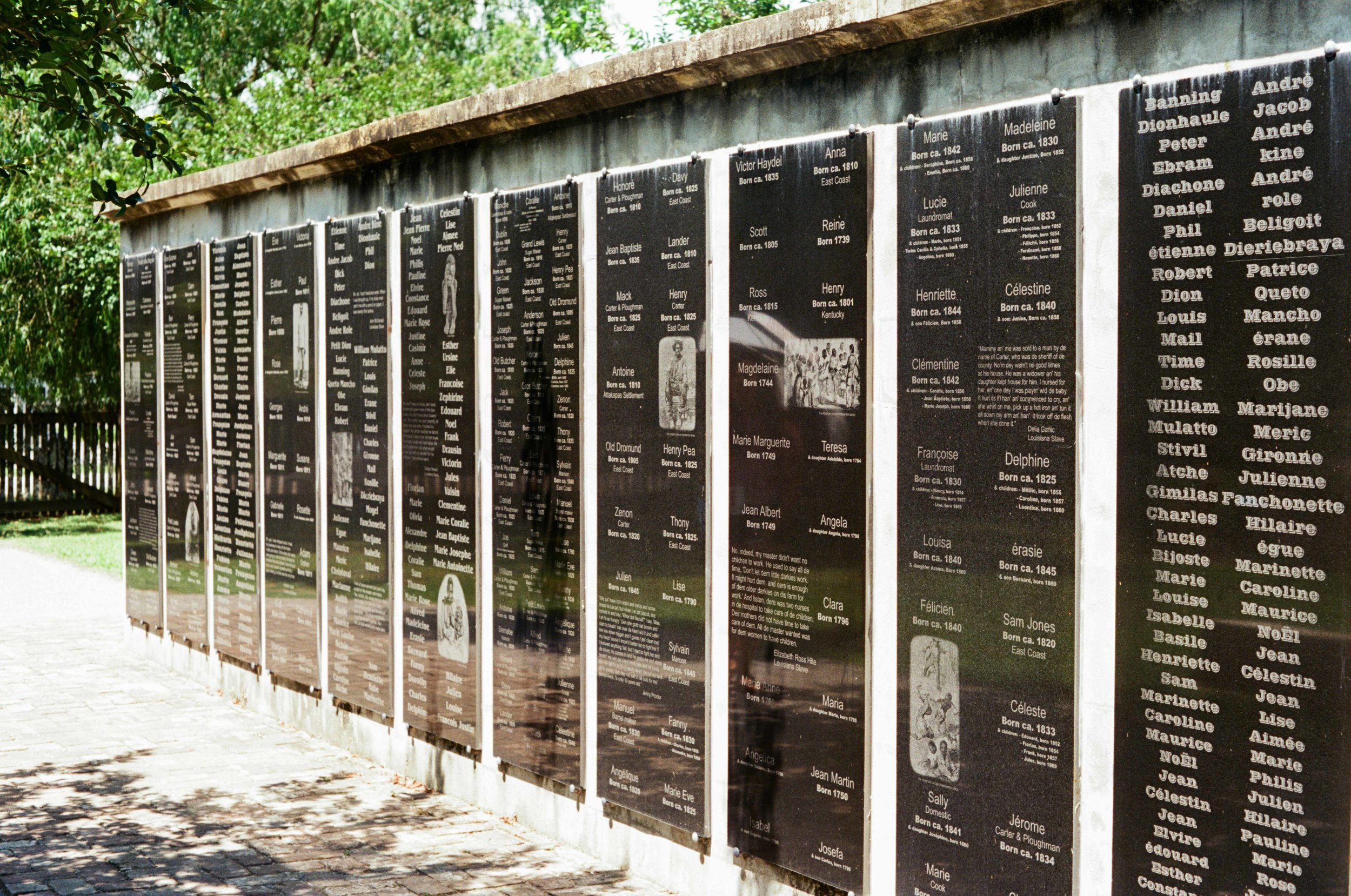 A condensed history of slavery relating to the Whitney Plantation