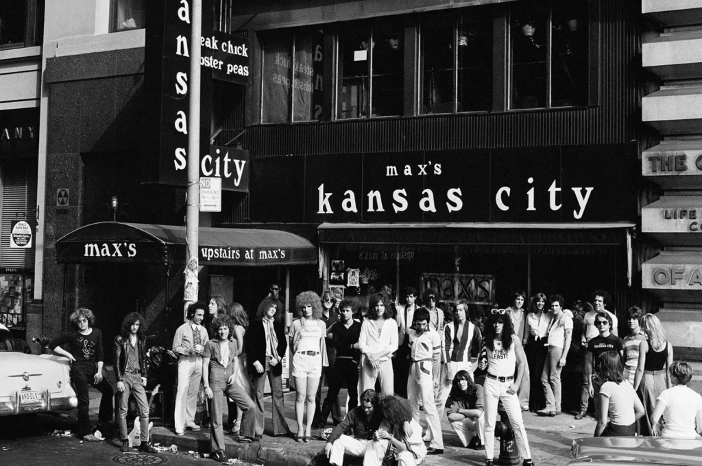 Max's Kansas City in the 70s (Rolling Stone)