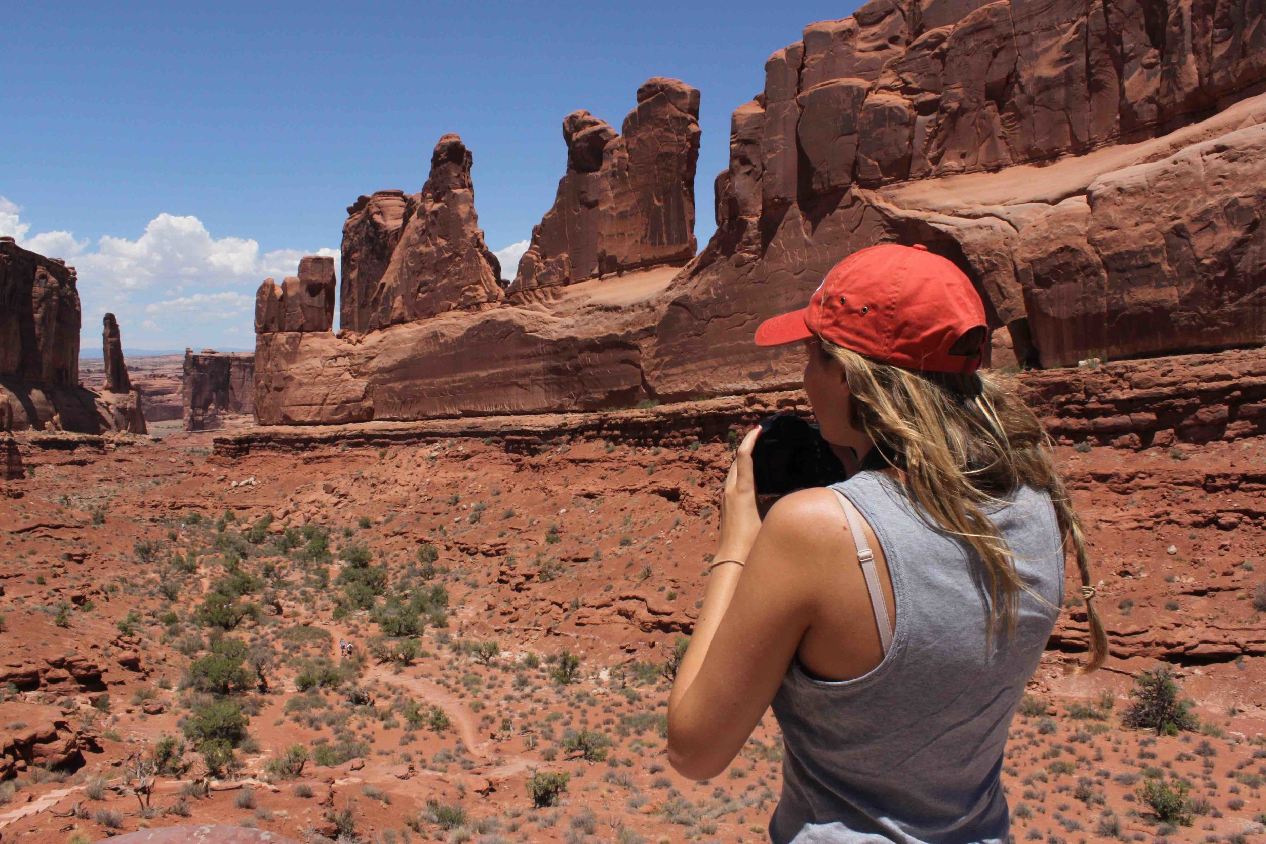 Arches National Park in July, 2012