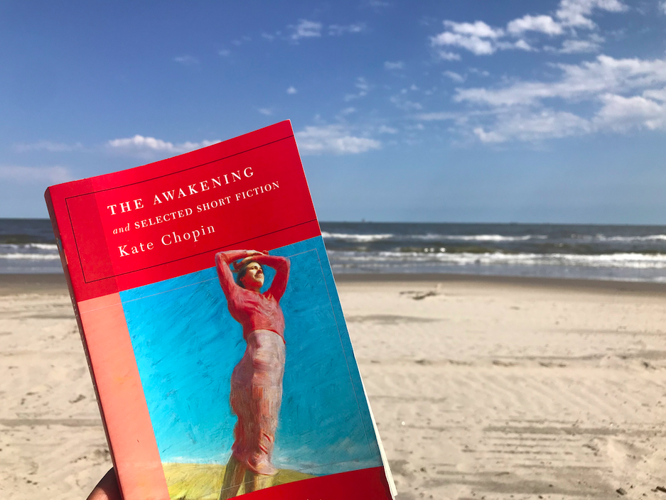 Reading  The Awakening  on the very beach the story took place on is a remarkable experience I never thought I would have.