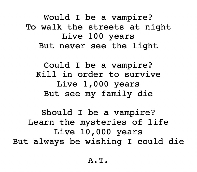 "Would I be a Vampire? - The deeper connotation of the Southern gothic literary style in ""Interview with a Vampire"""