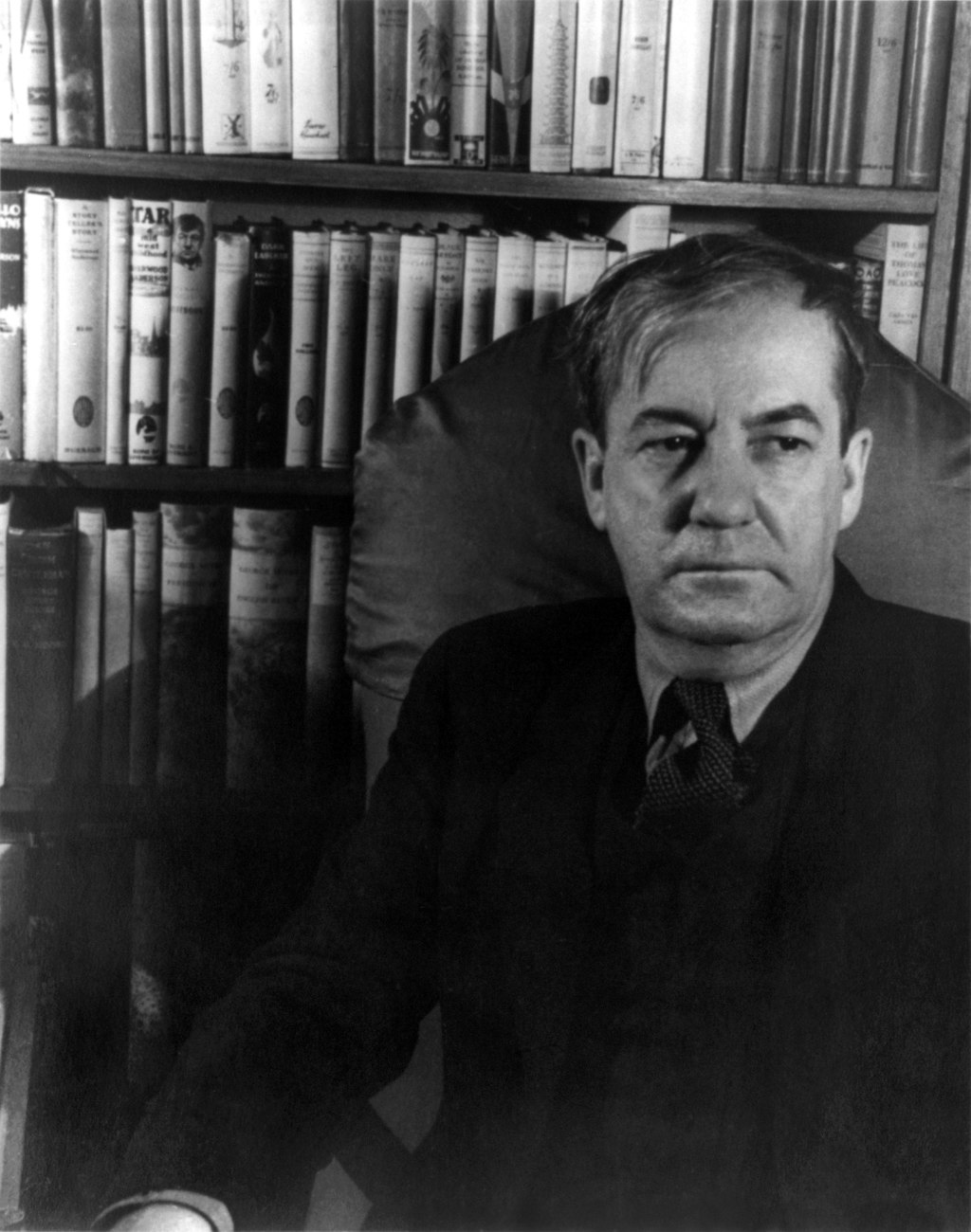 Sherwood Anderson in 1933