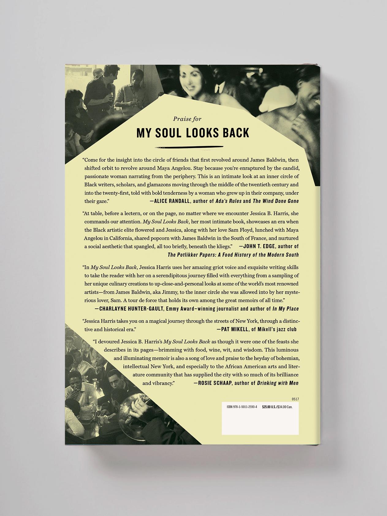 My Soul Looks Back verso—Jessica B. Harris