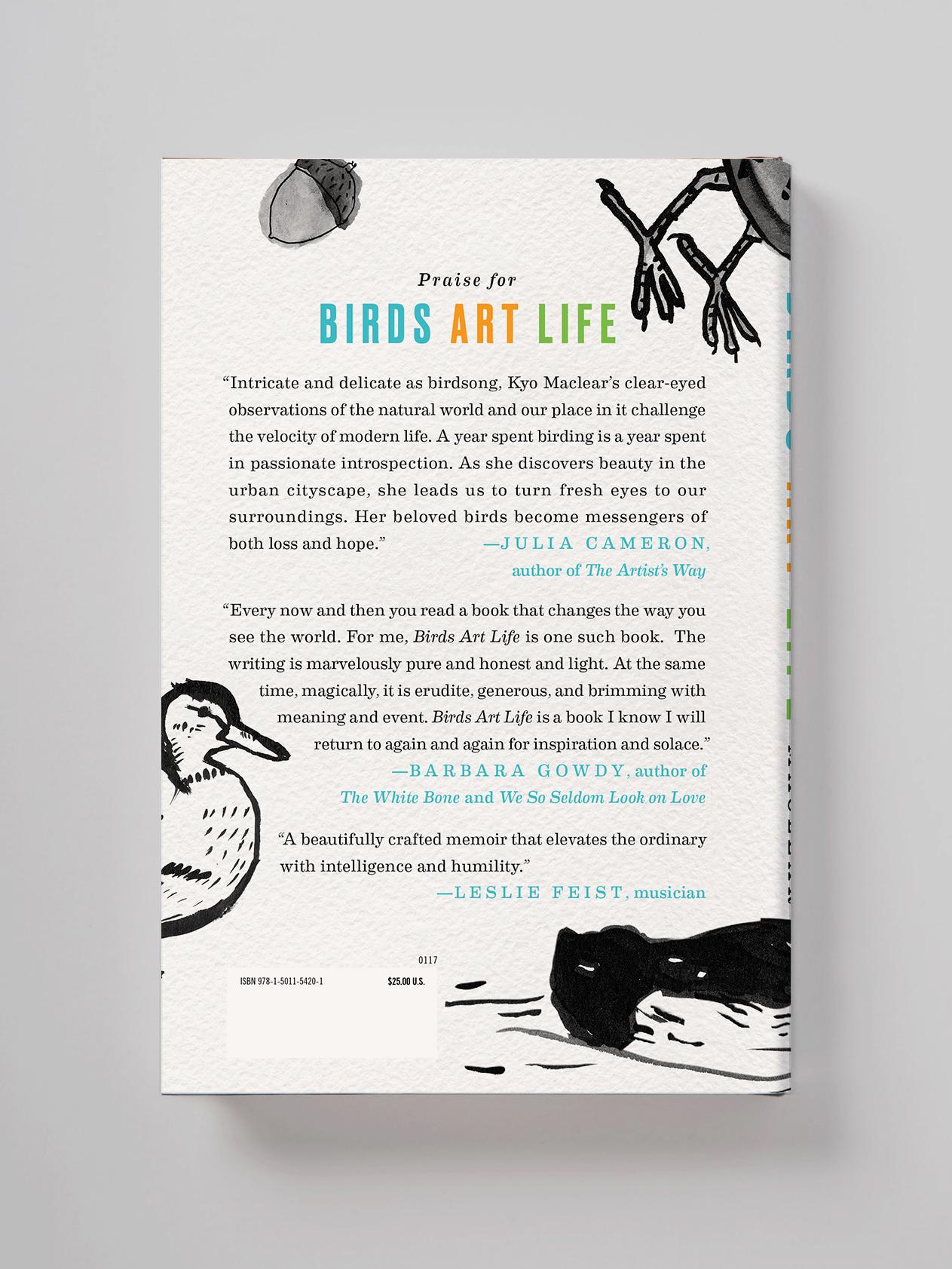 Birds Art Life verso—Kyo Maclear