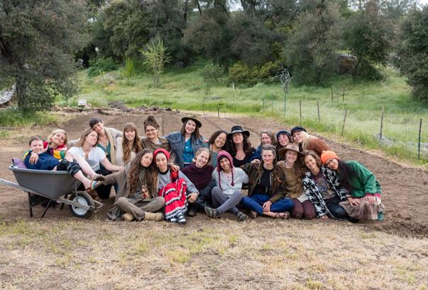 On Elder Farm with the Medicine Mandala sisterhood, February 2019