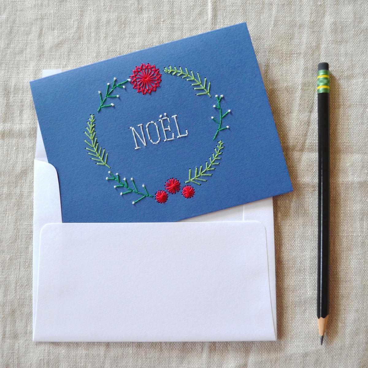 Koto   Hand embroidered art and paper goods