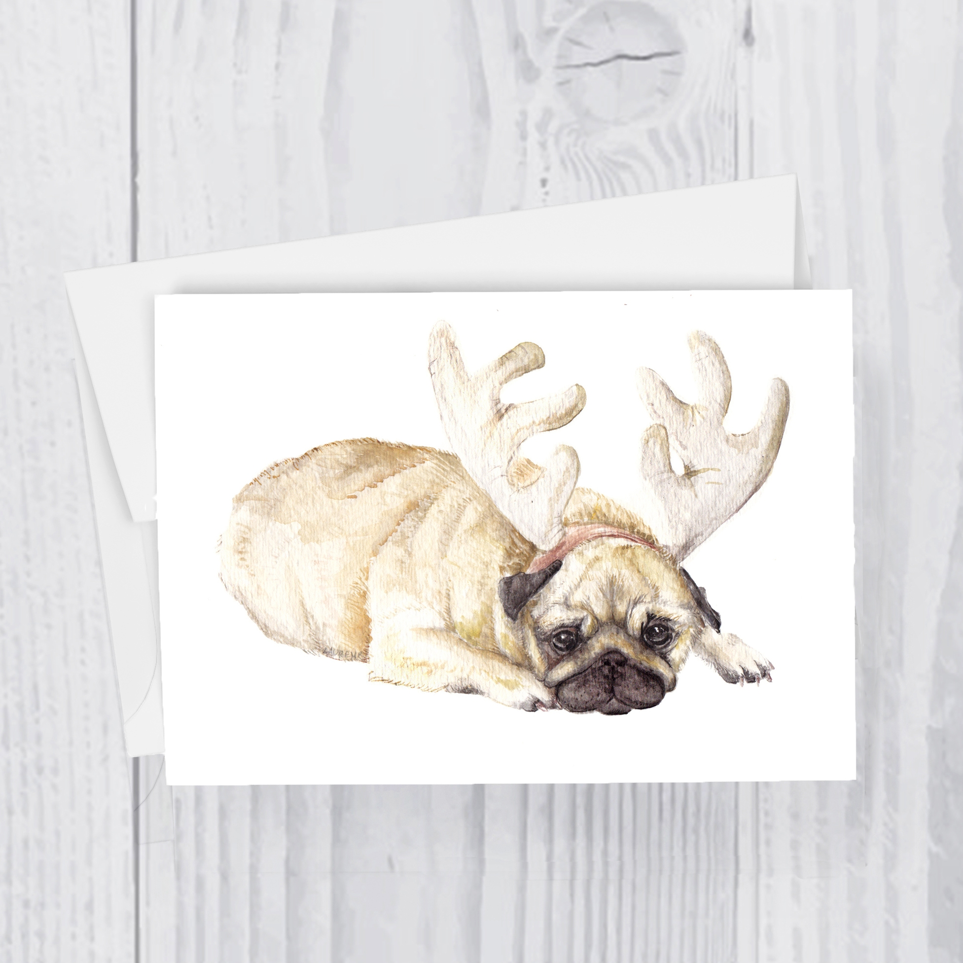 Wandering Laur Fine Art  Detailed and playful watercolor animal art.