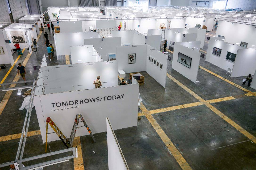 TOMORROWS/TODAY CURATED BY TUMELO MOSAKA |  CAPE TOWN ART FAIR 2017 | #CTAF17 |  MASSIMO AGOSTINELLI