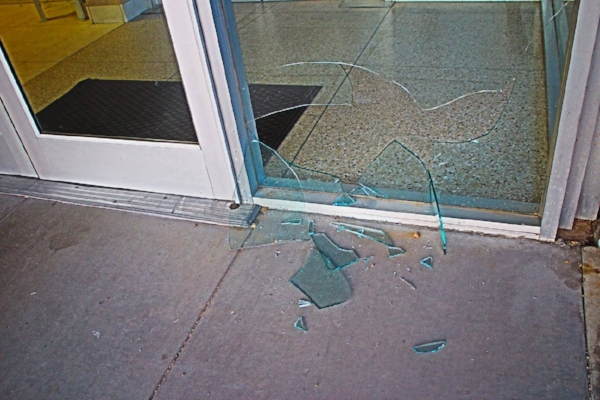 Amanda Holstien Broken Glass