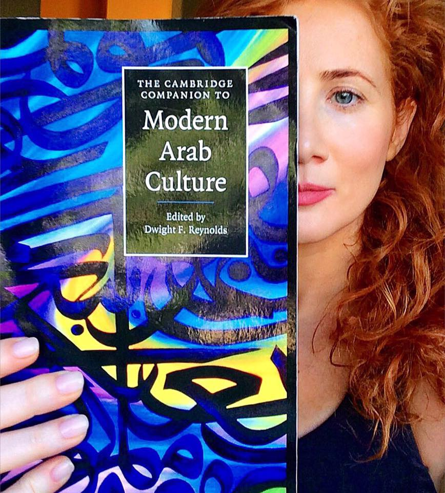 Featured Artwork on Cover of Modern Arab Culture - 2015 - Cambridge Press