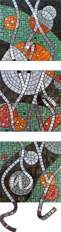 Highlights Mosaic Triptych