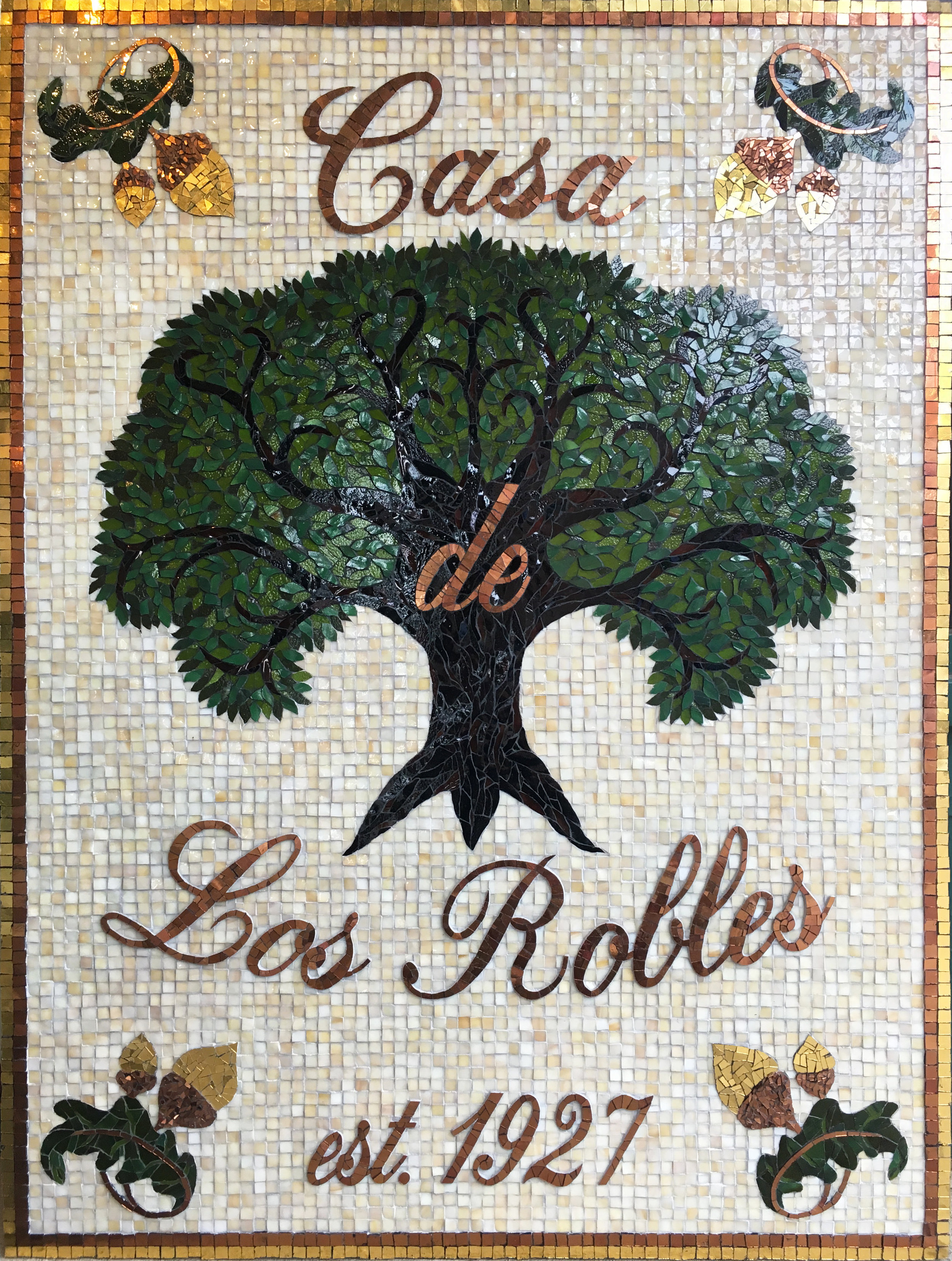 Casa de Los Robles Mosaic