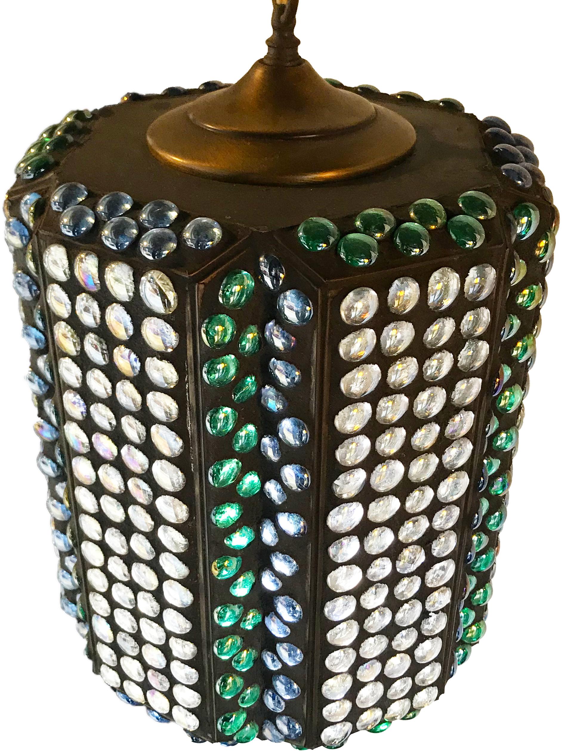 Gem Mosaic Lamp