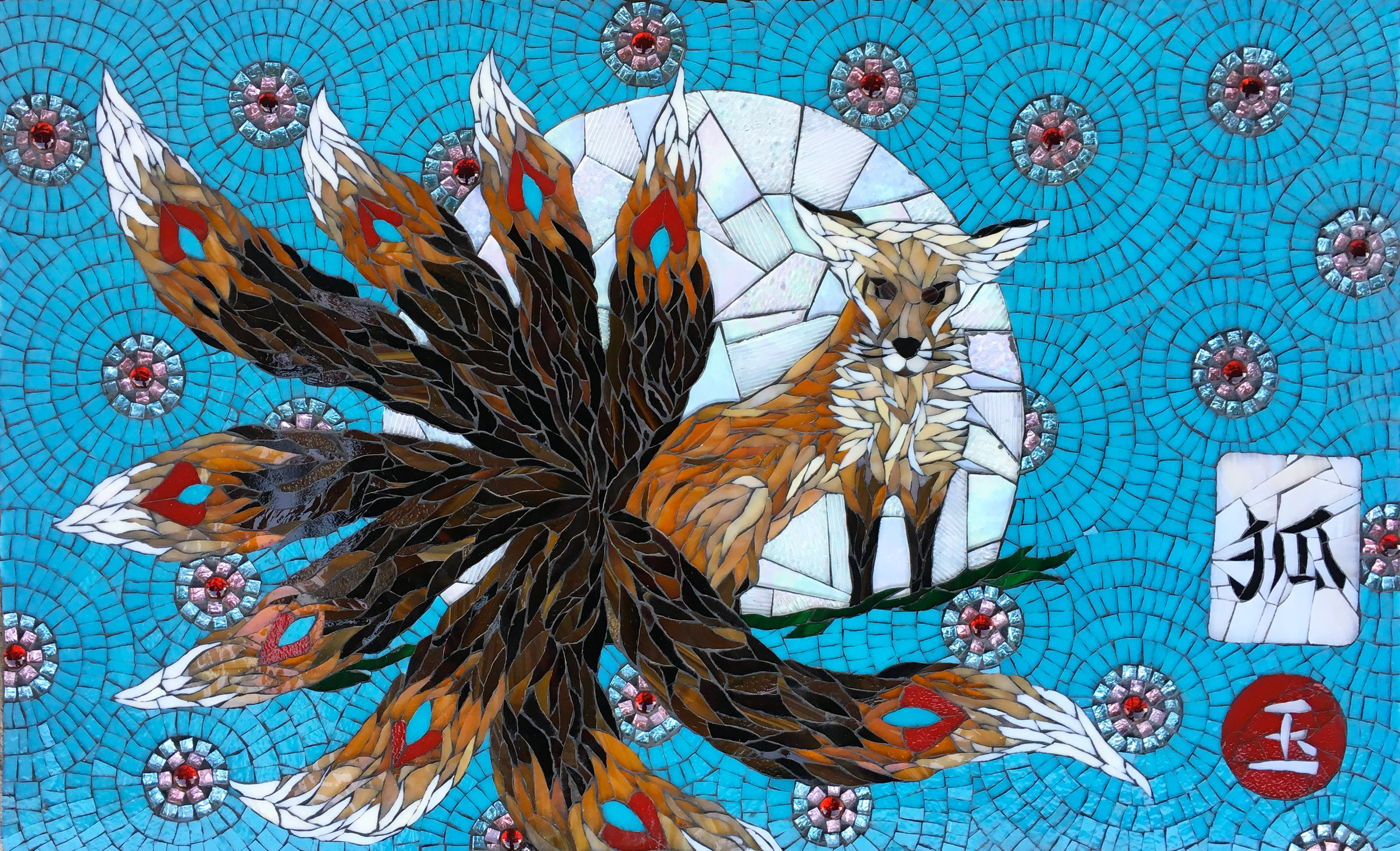 Jade the Fox Mosaic