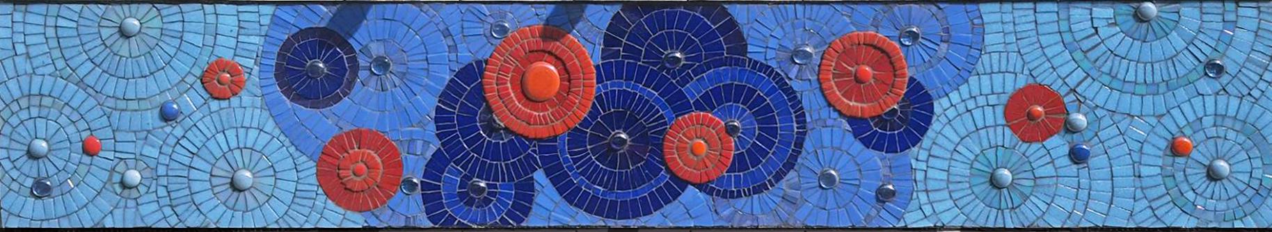 Pool Shower Mosaic