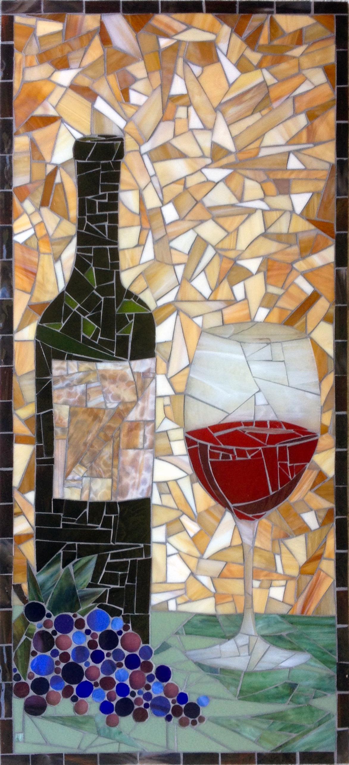 Wine Cellar Mosaic