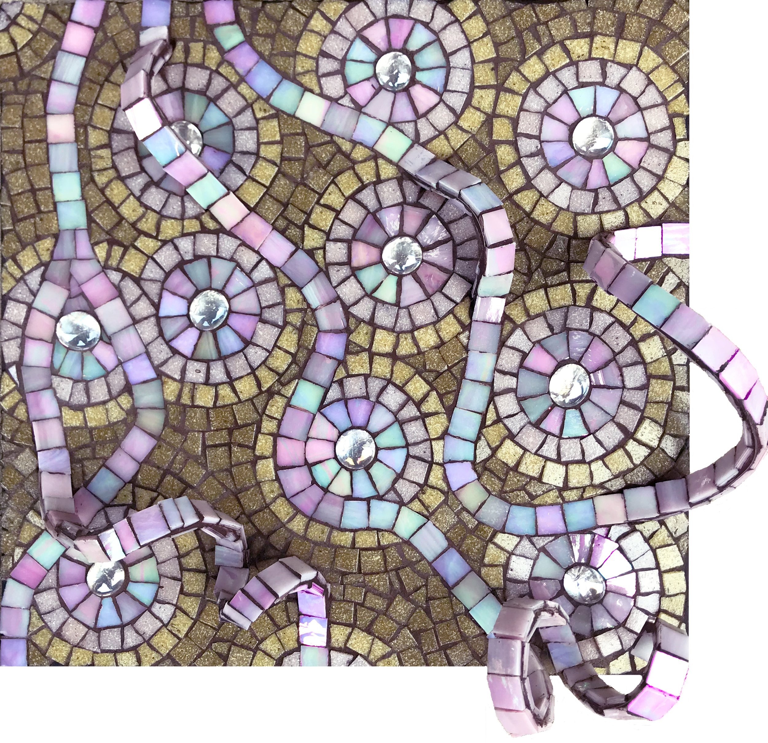 Pink Aspirations Mosaic