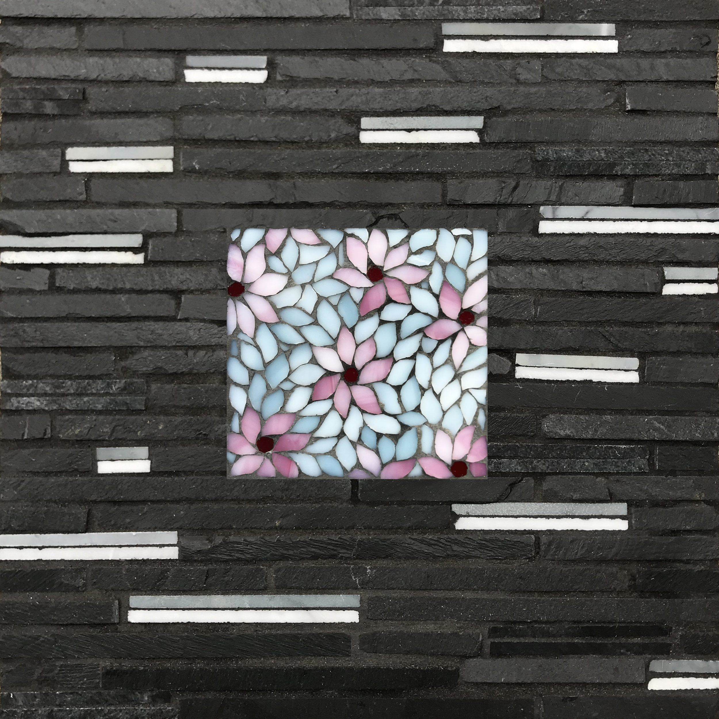 Cherry Blossoms Purity Mosaic