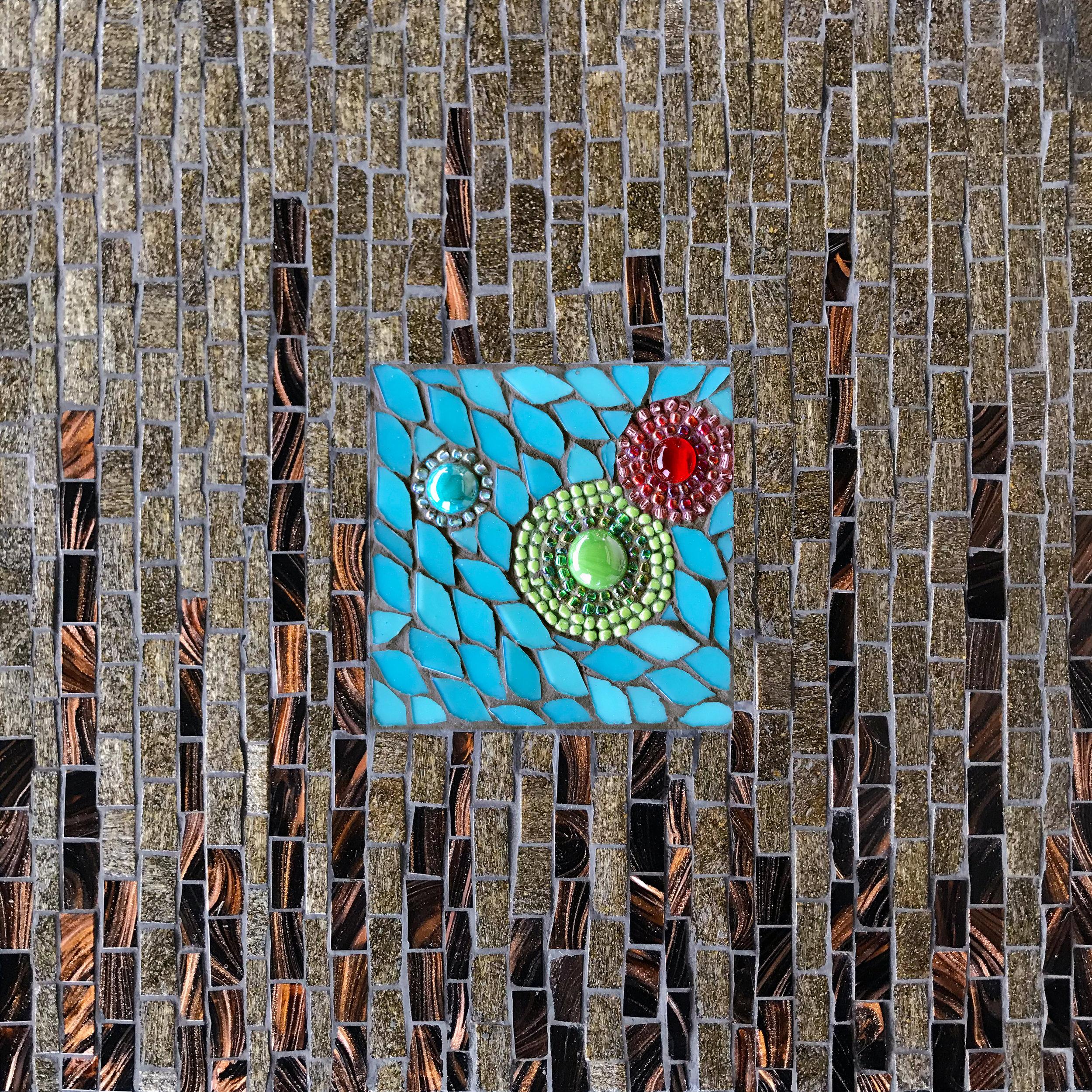 Poppies Bubble Mosaic