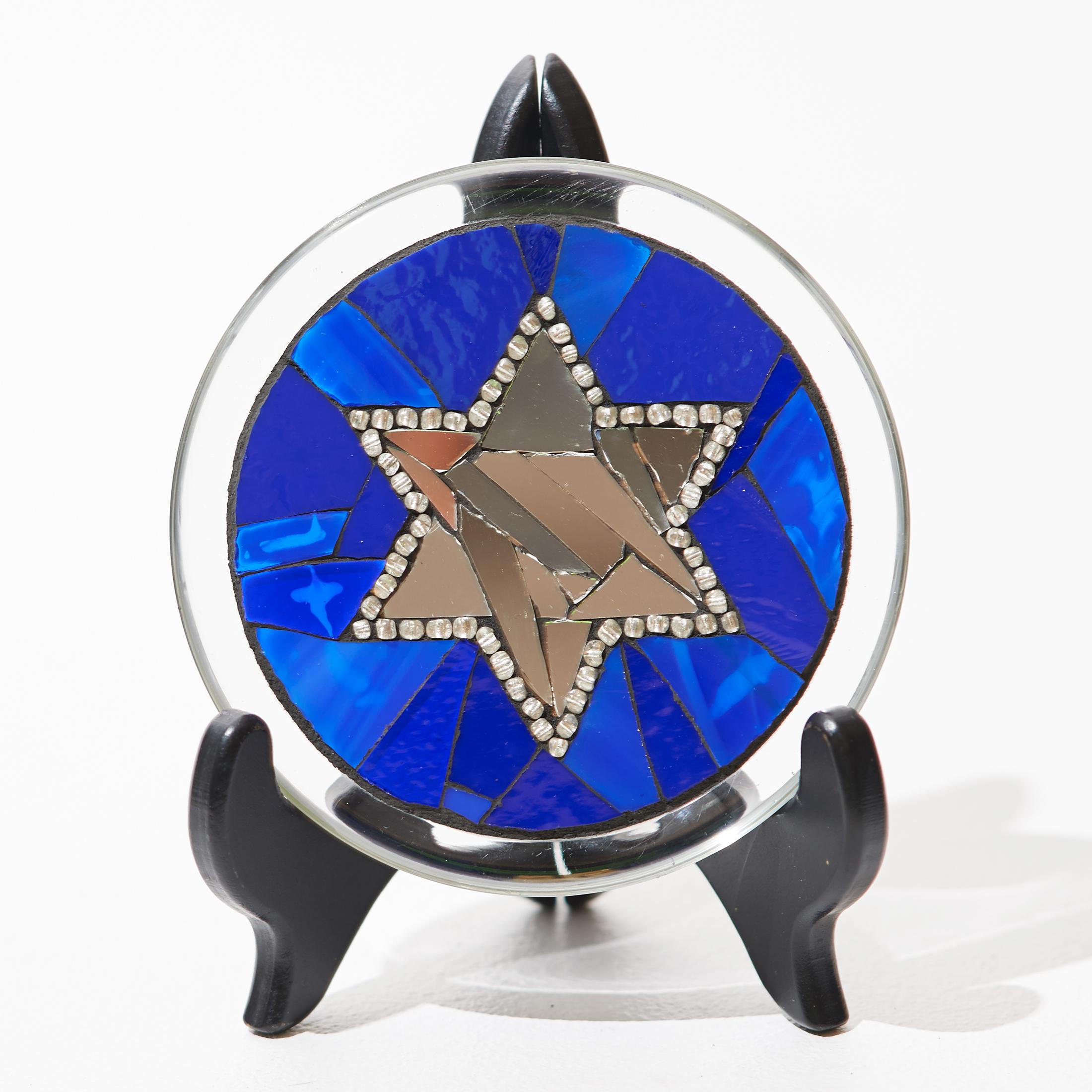 Holiday Star Mosaic Plate