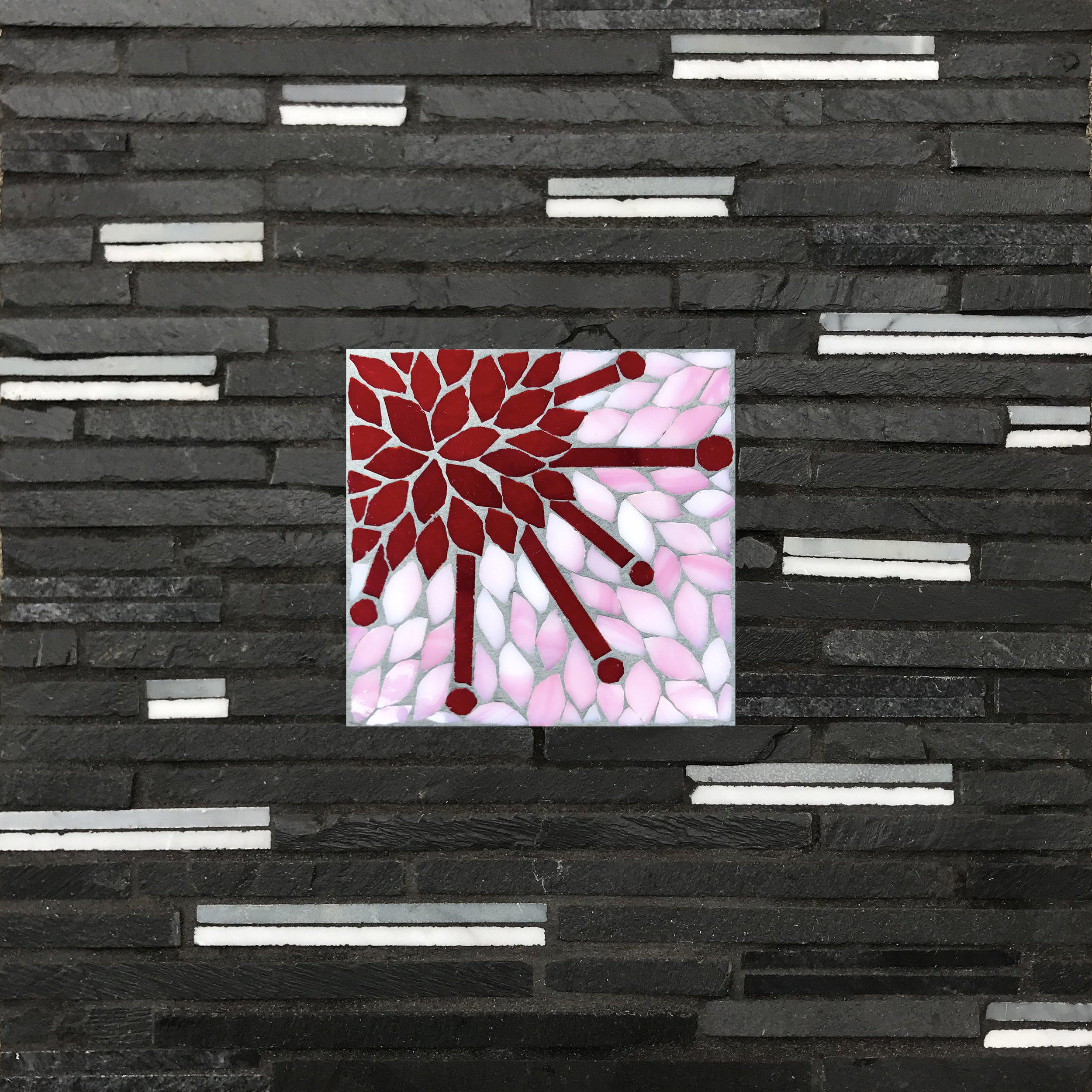 Cherry Blossoms Bloom Mosaic