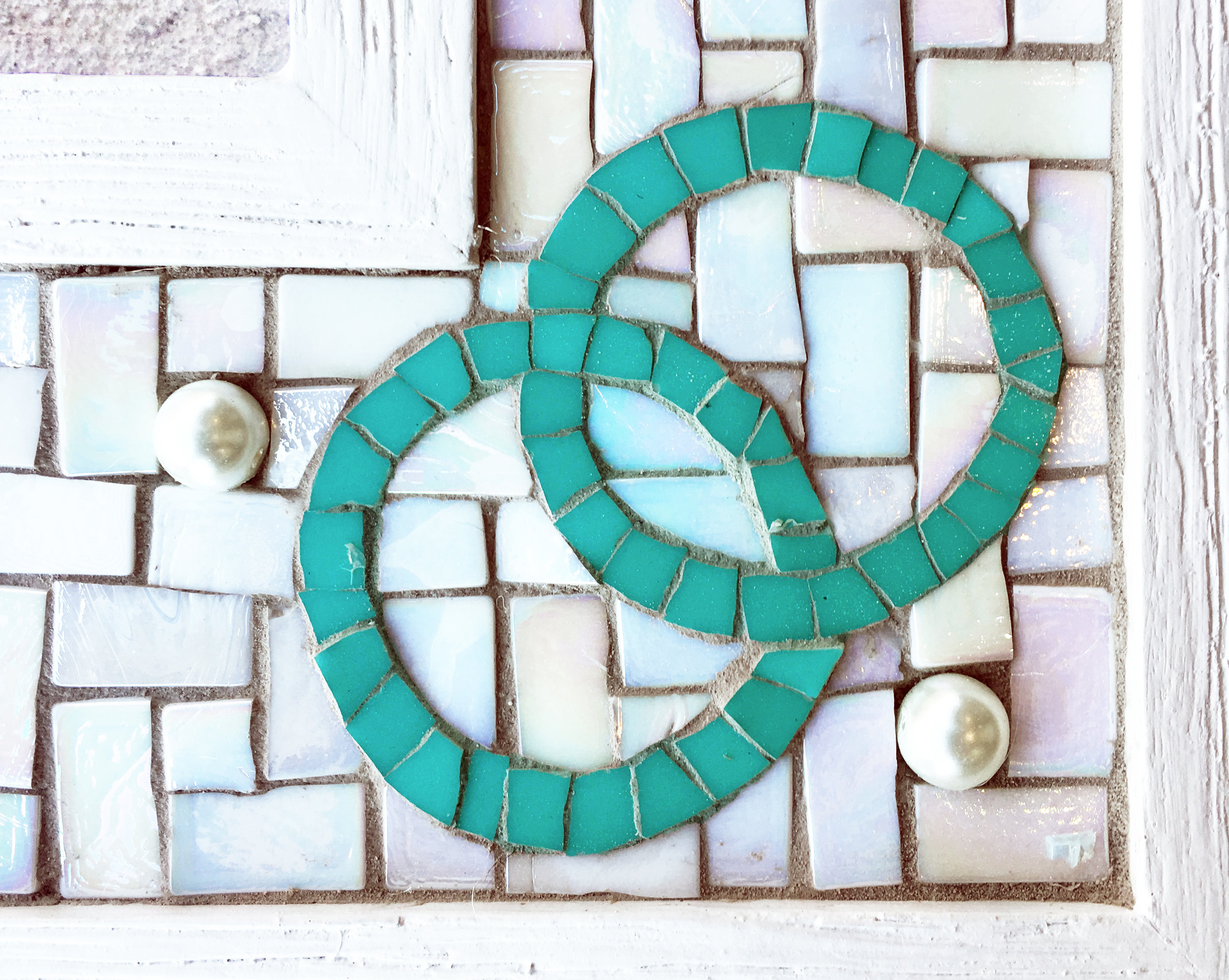 Anniversary Mosaic Frame Detail 1